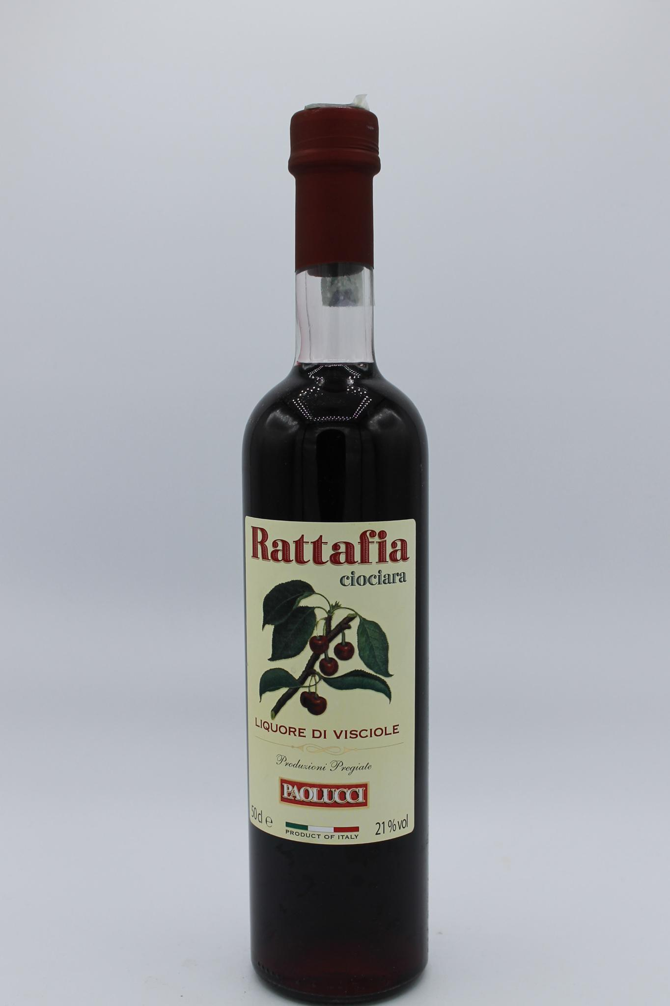 Paolucci liquore rattafia 500ml.