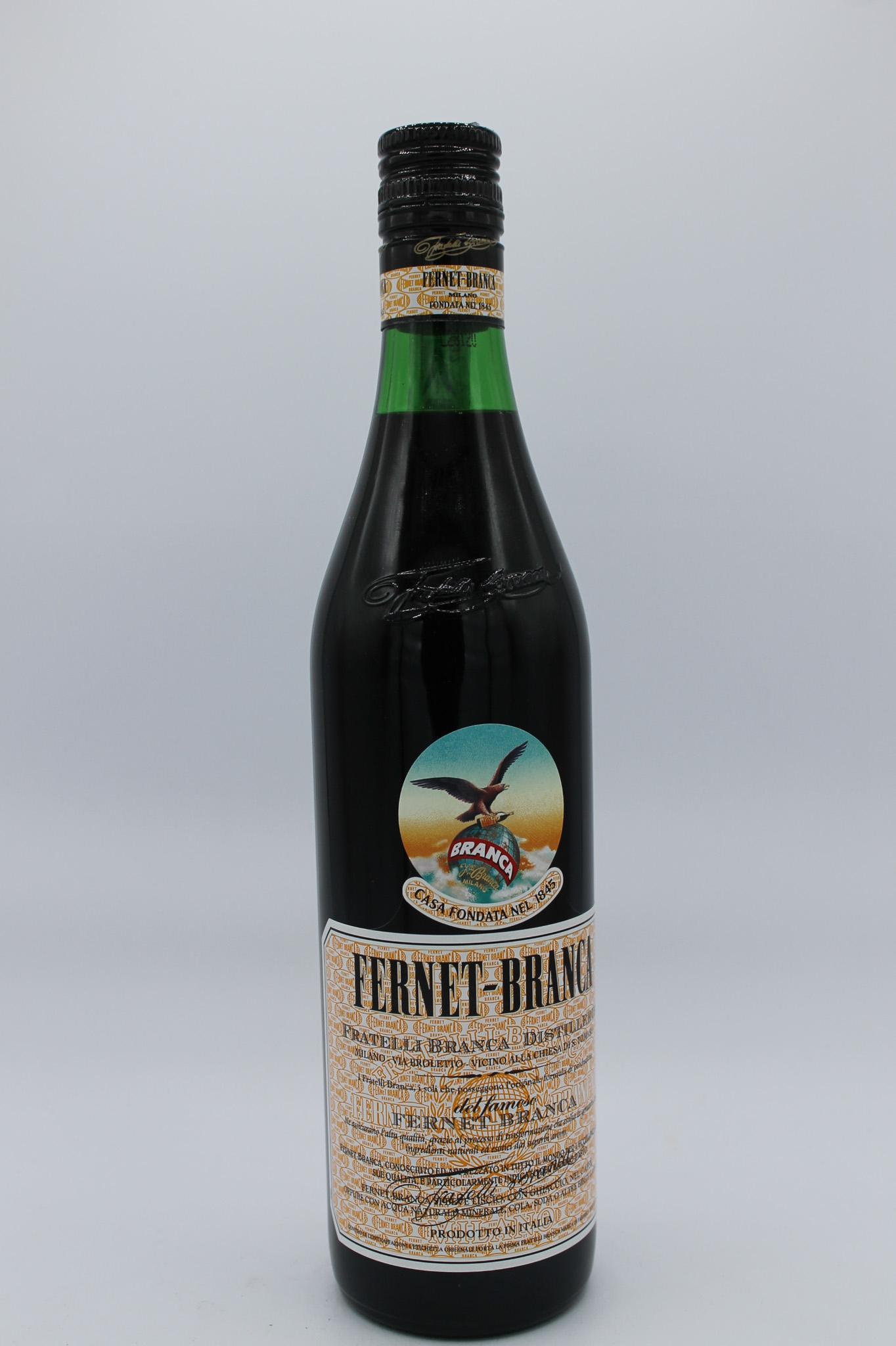 Fernet branca liquore amaro 700ml.