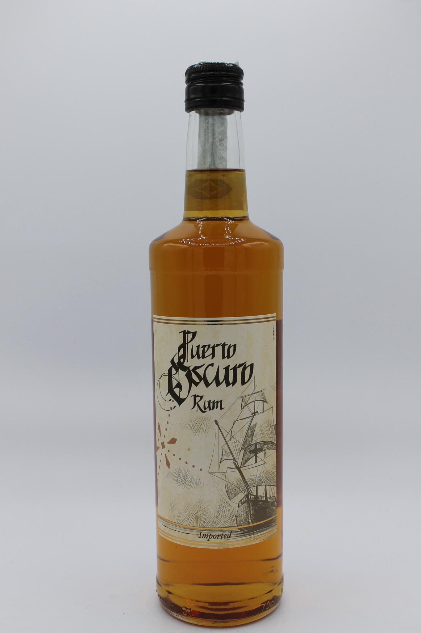 Puerto Oscuro rum 700ml.