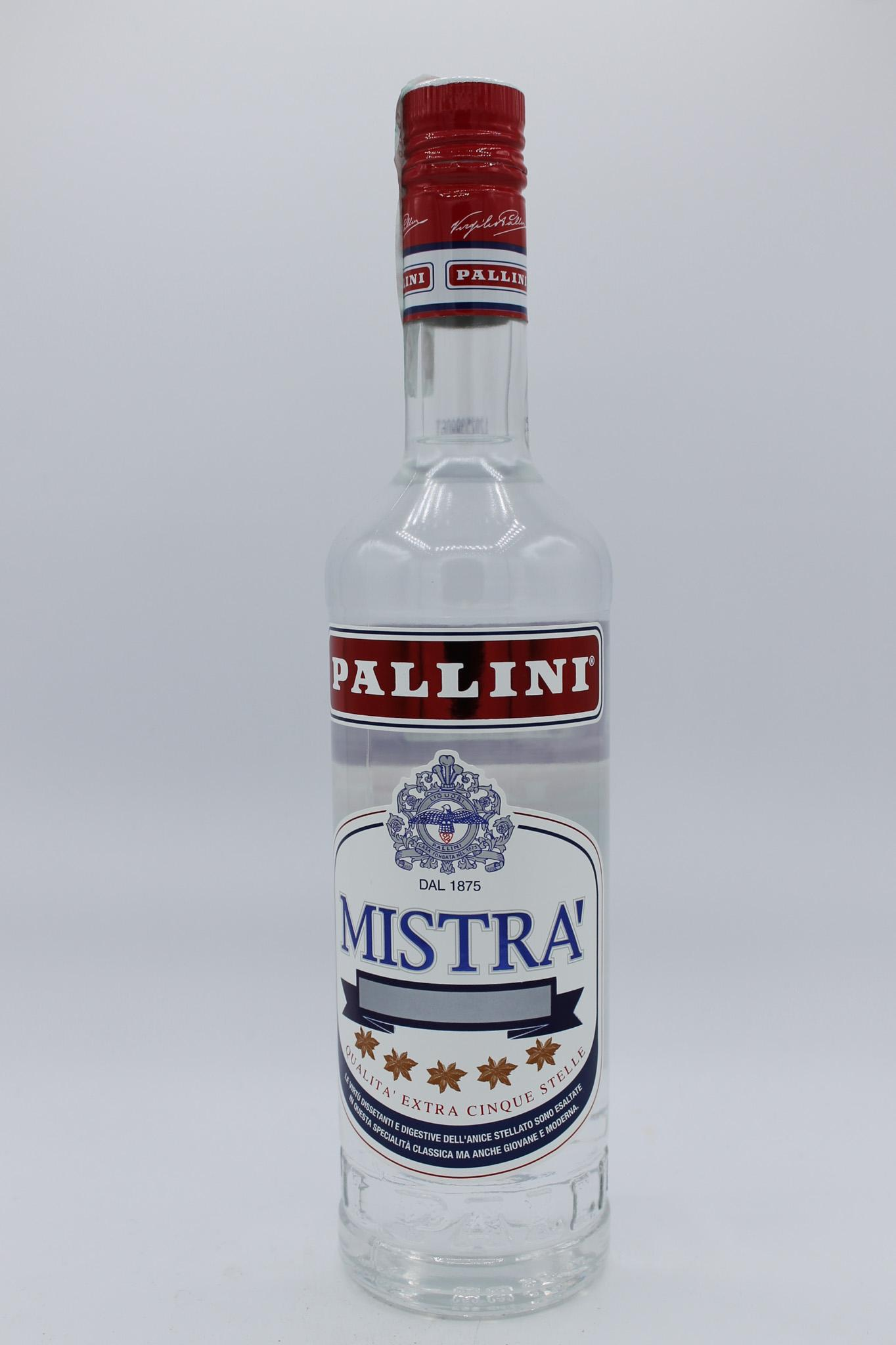 Pallini mistrà bottiglia 700ml.