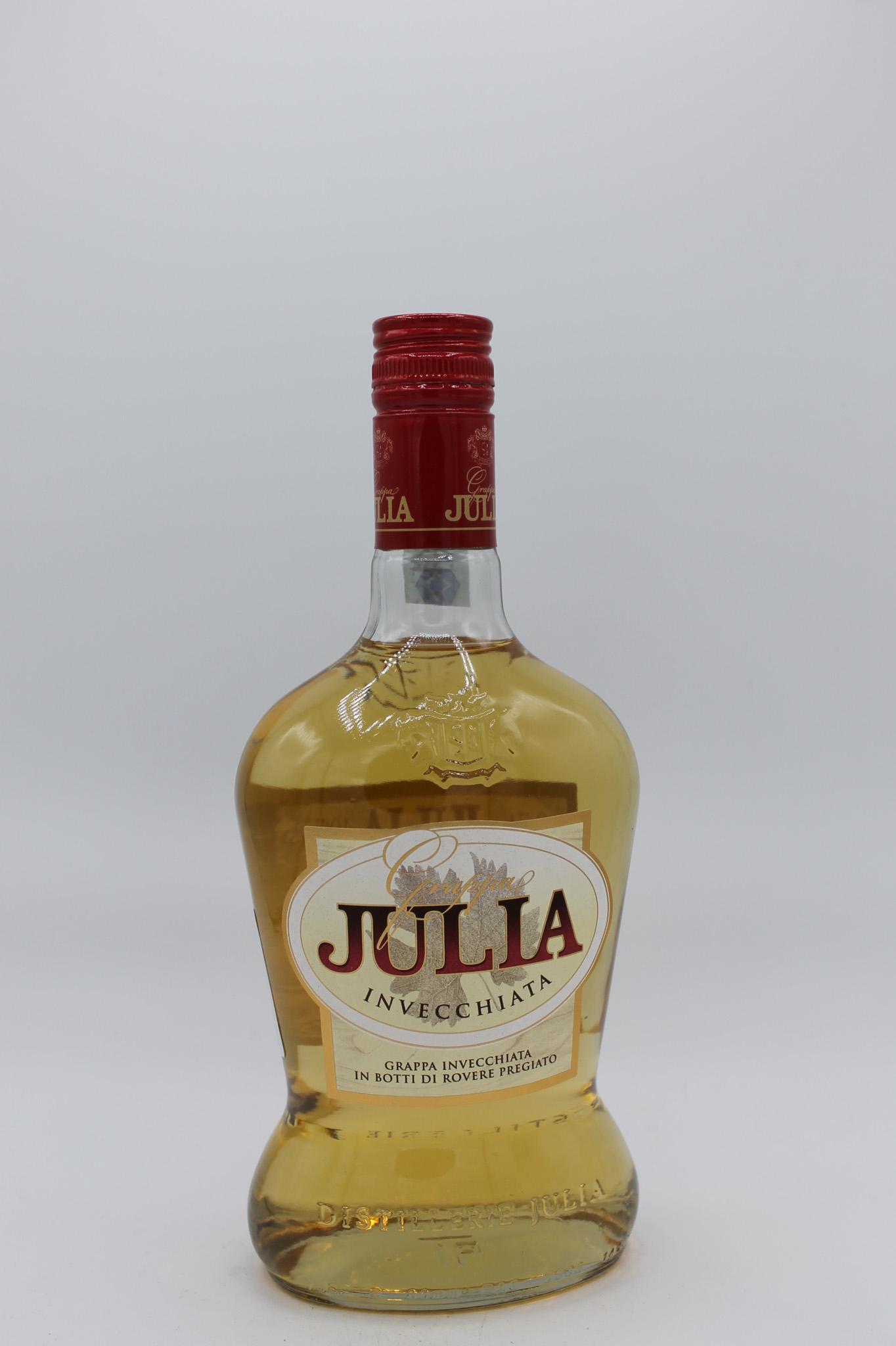 Grappa julia invecchiata 700ml.