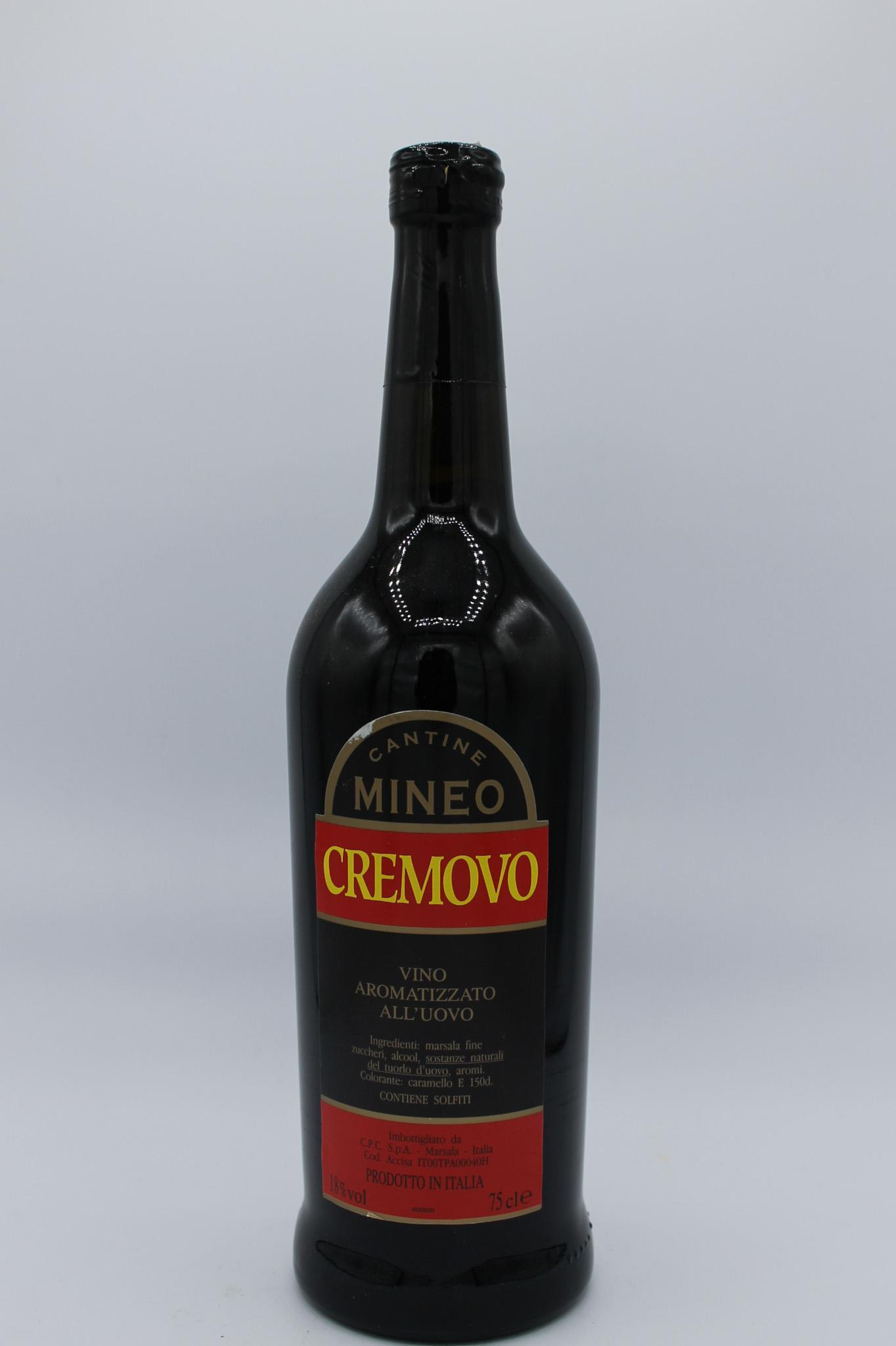 Mineo liquore cremovo 750ml.