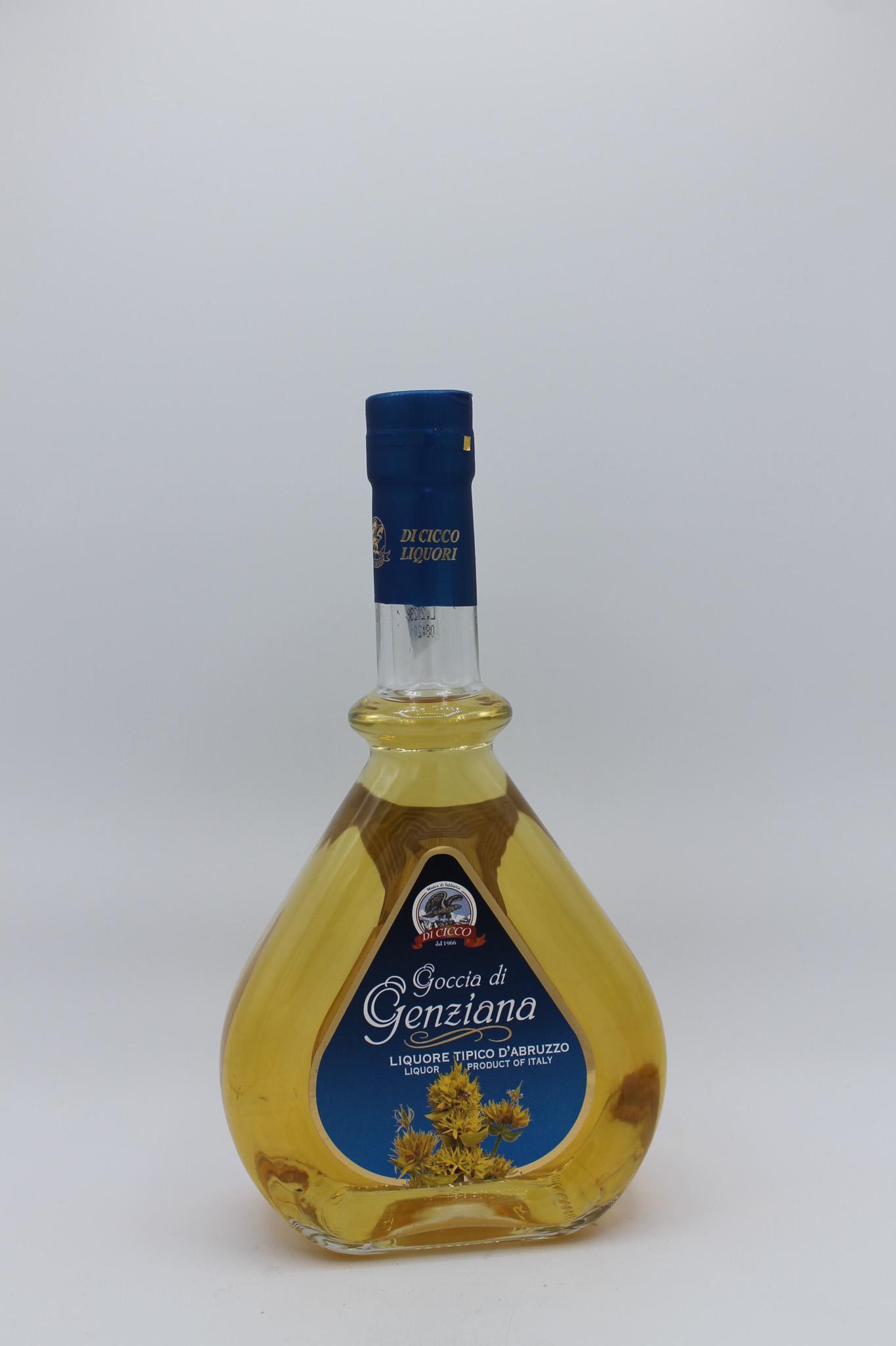 Di Cicco liquore alla genziana 500ml.
