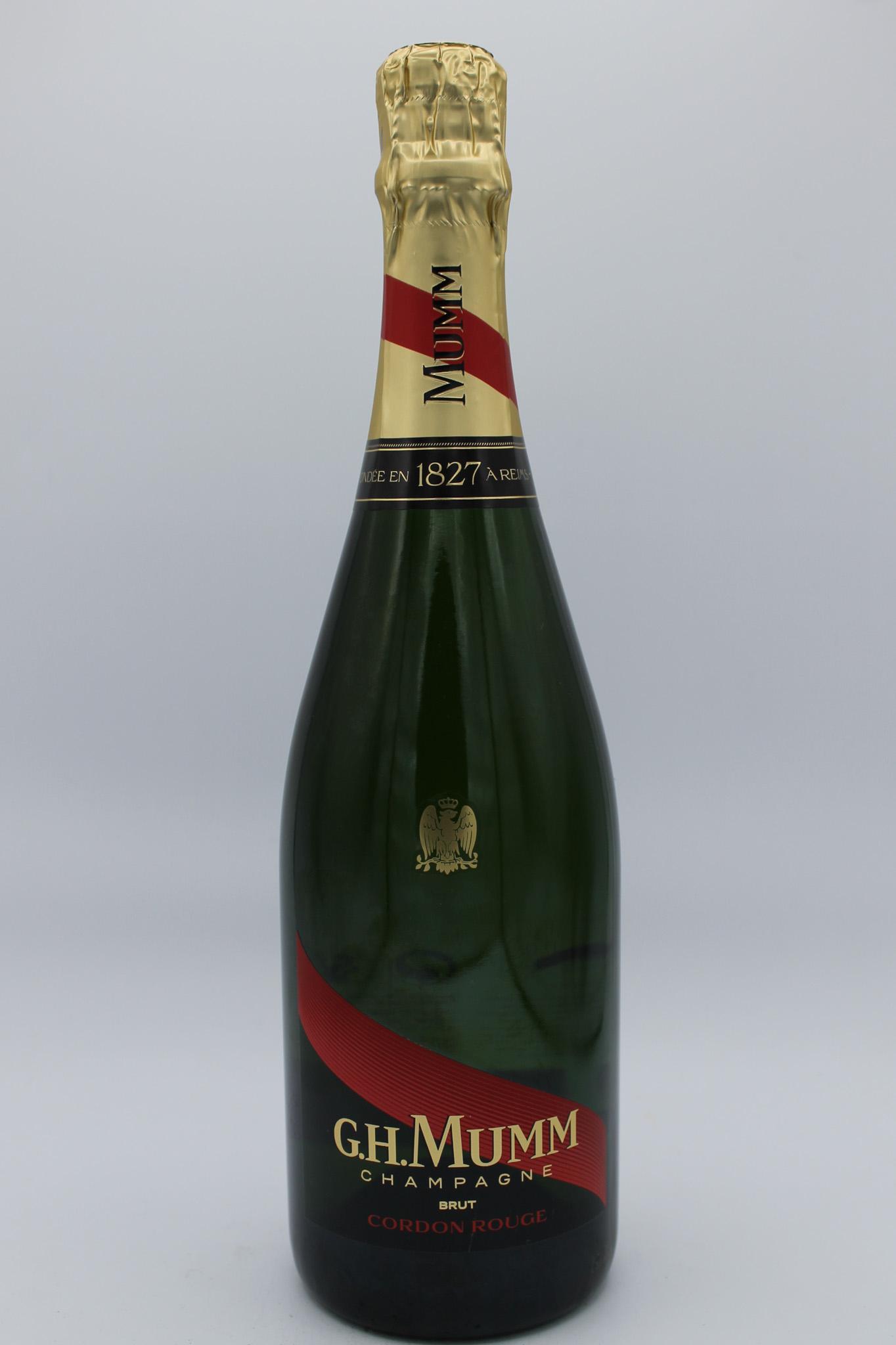 G.H. Mumm champagne brut 750ml.