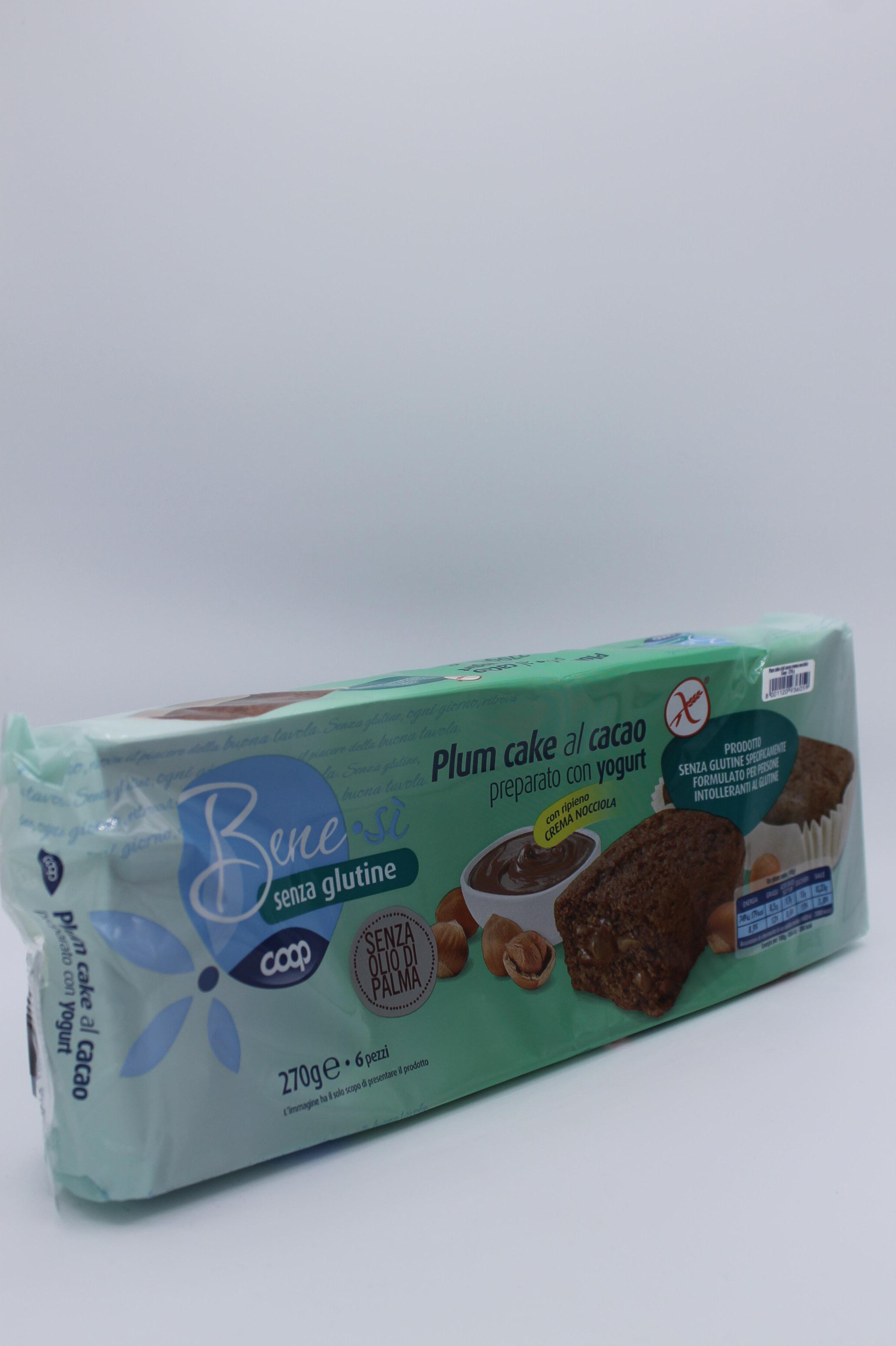 Coop benesì plumcake cacao no glutine 270gr.