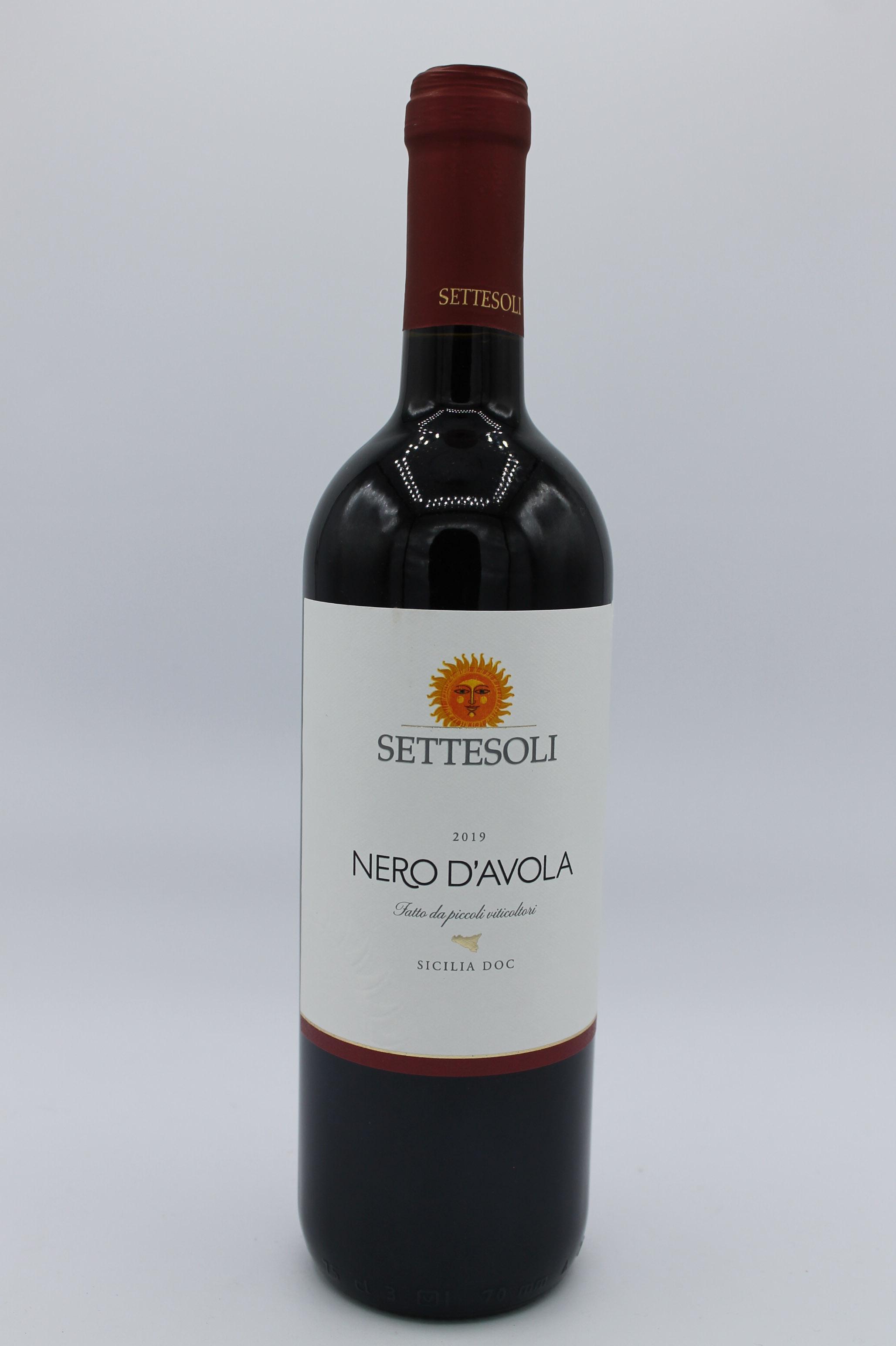 Sette Soli Nero D' Avola 750ml.