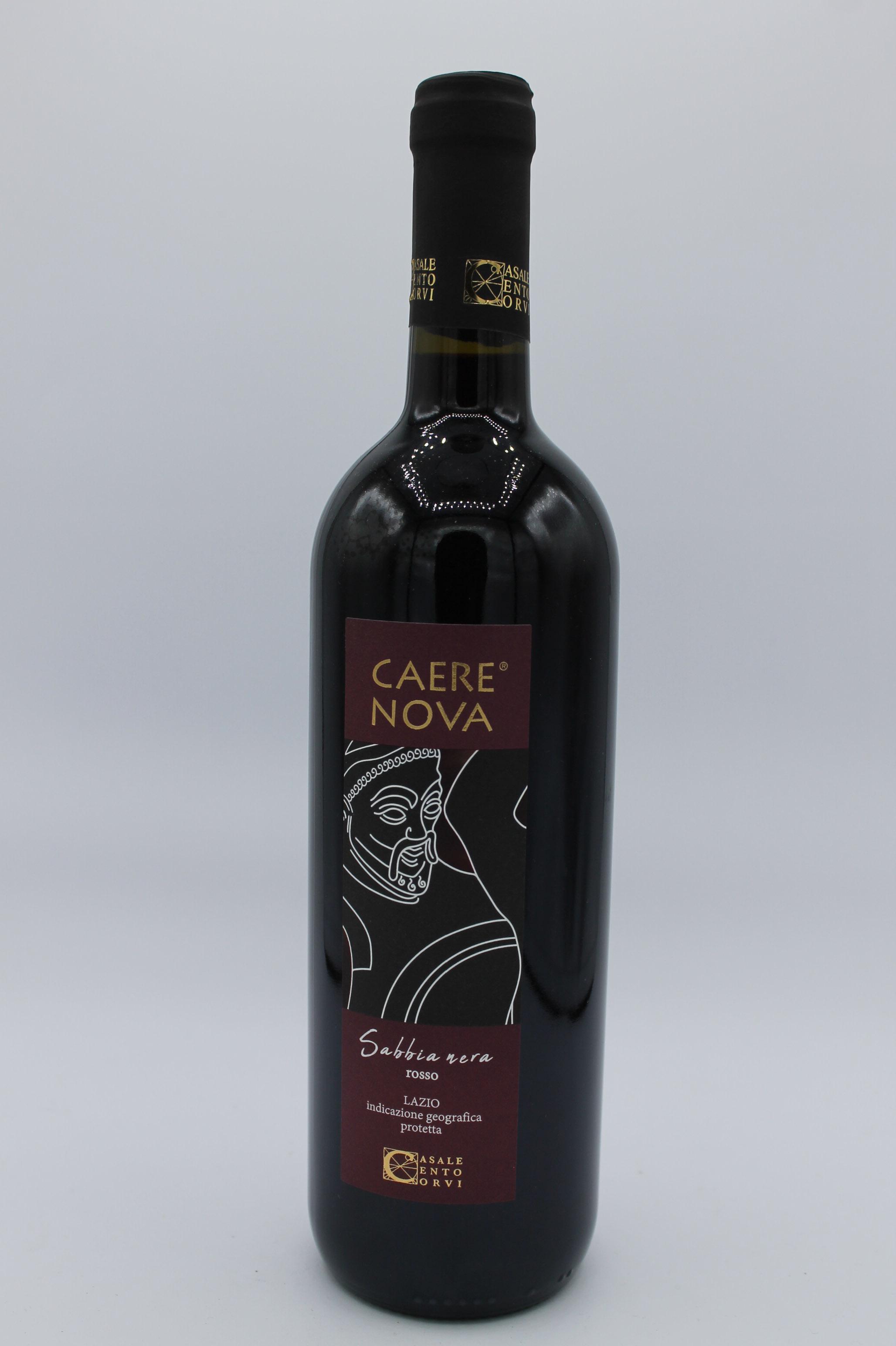 Caere Nova vino rosso sabbia nera IGP 750ml.