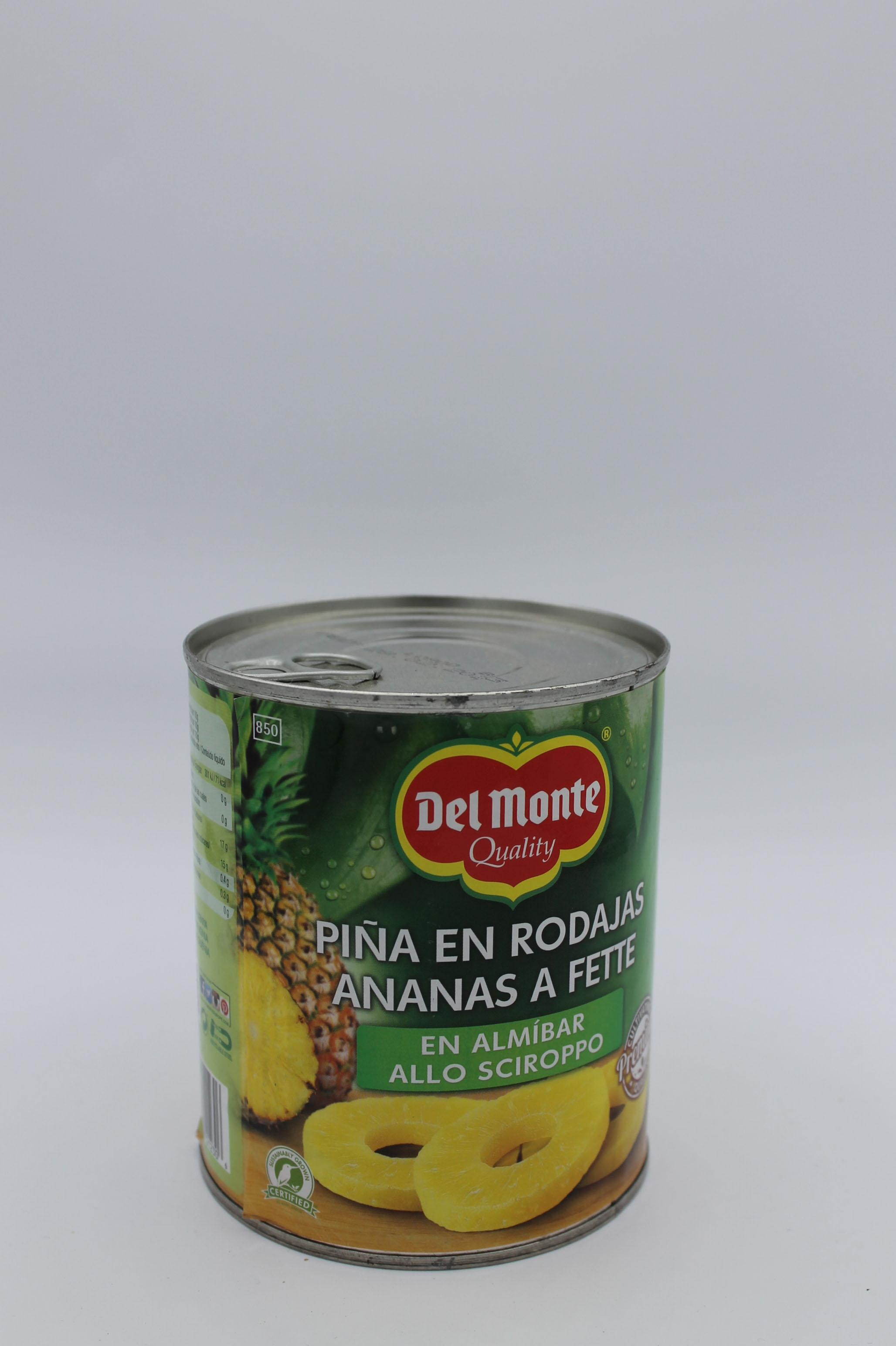 Del Monte ananas a fette 839gr.