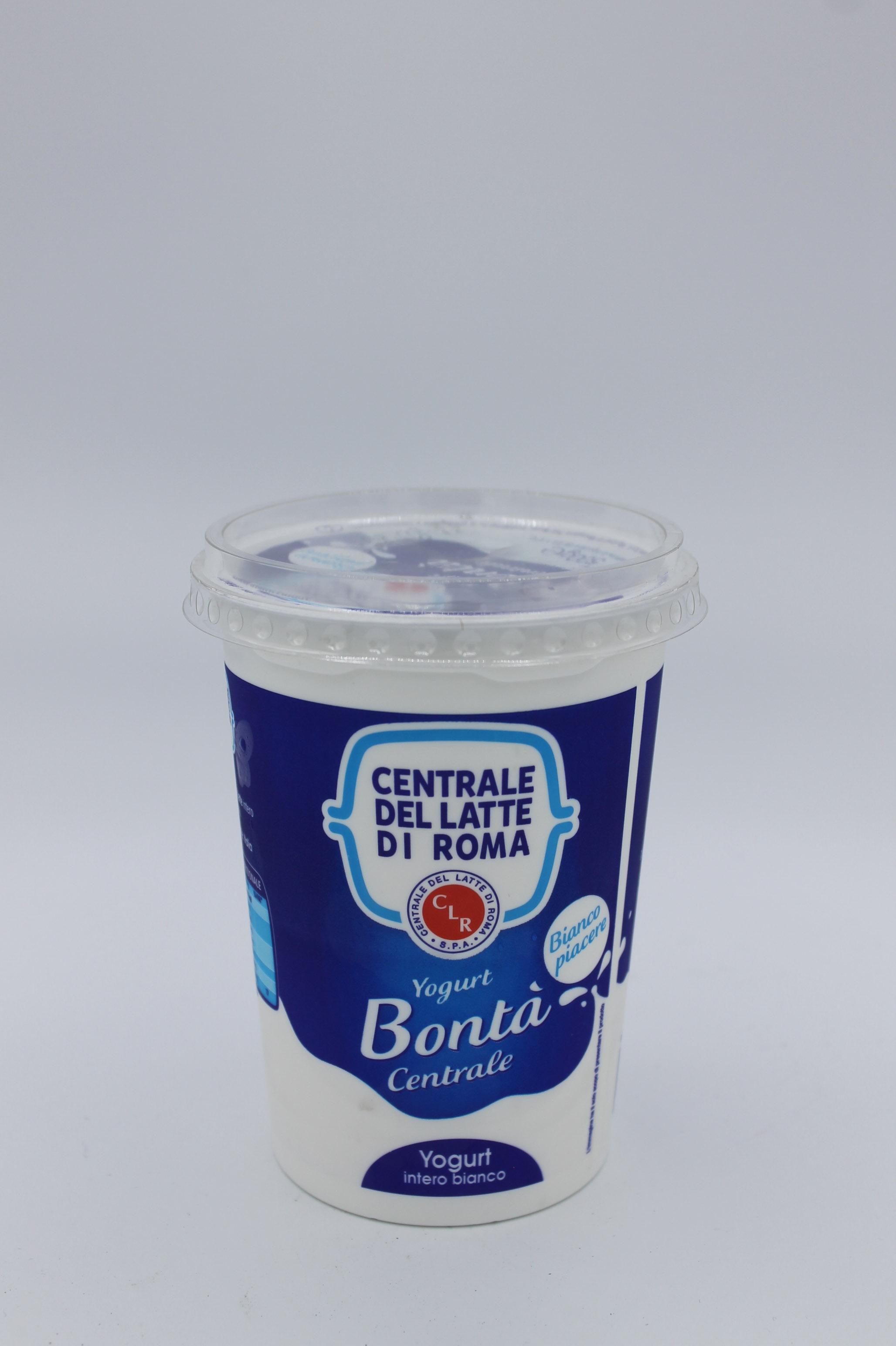 Centrale del latte yogurt intero bianco 500gr.