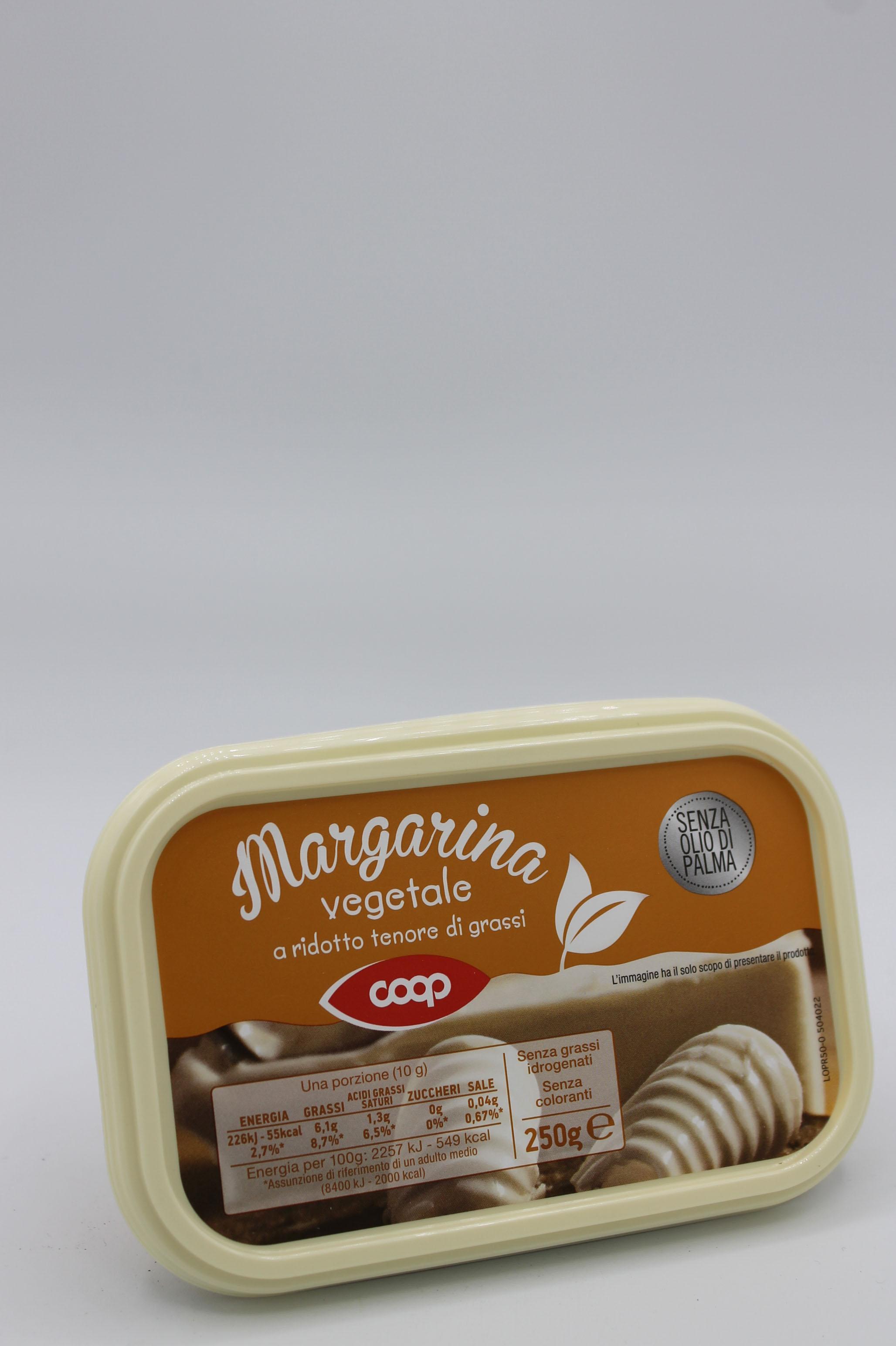 Coop margarina vegetale 250gr.