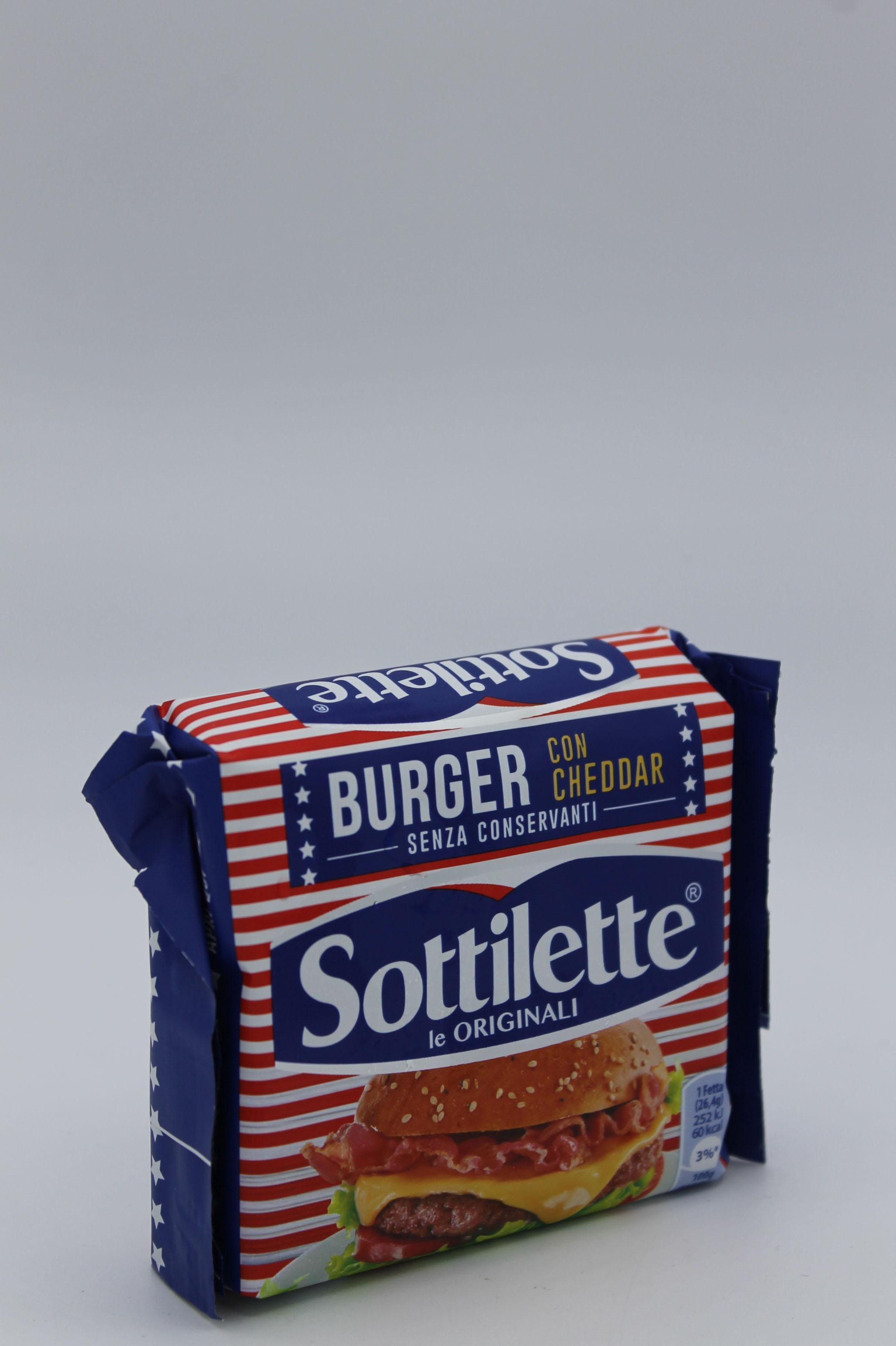 Kraft sottilette burger 185gr.