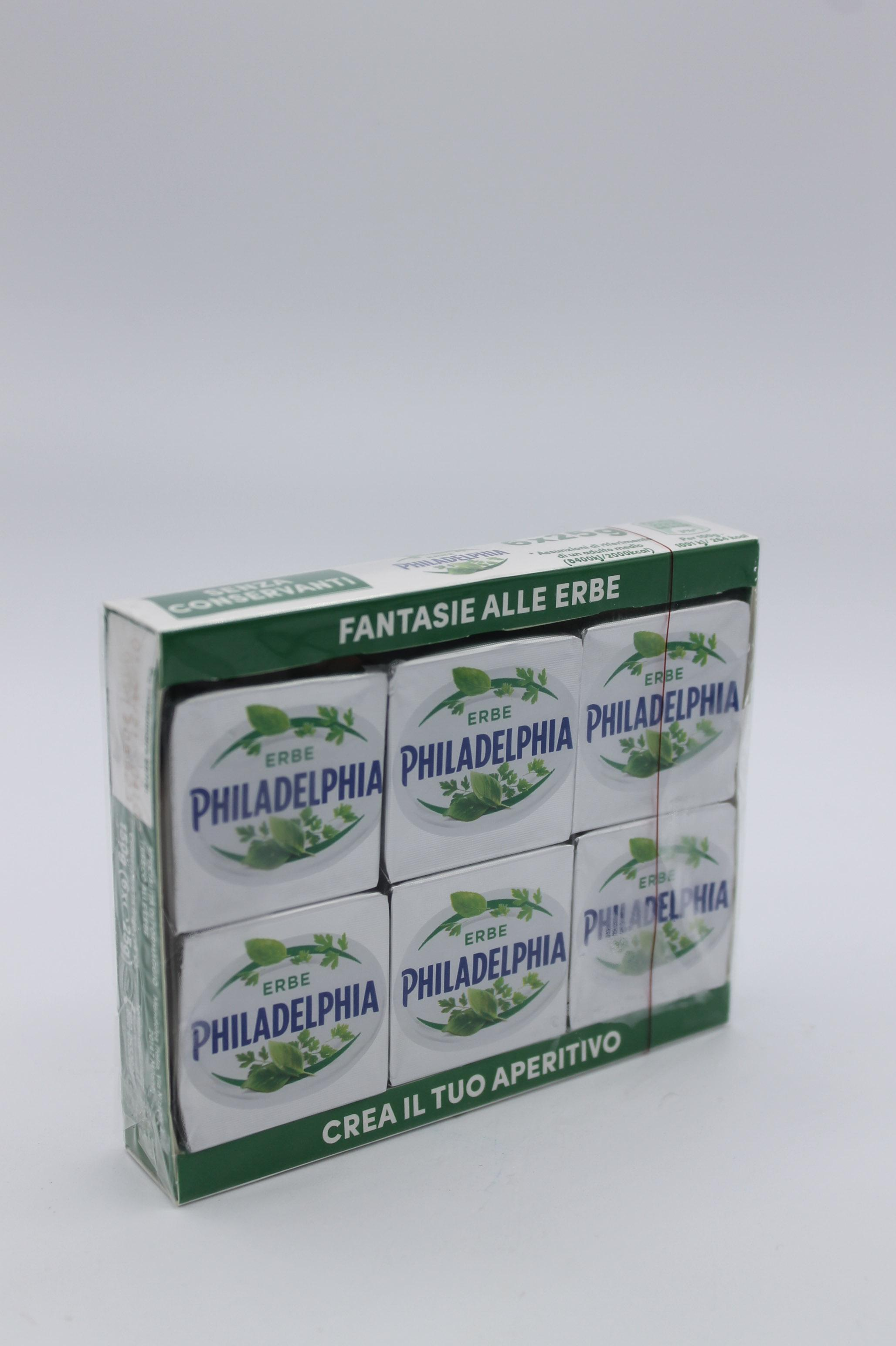 Philadelphia alle erbe 6X25gr.