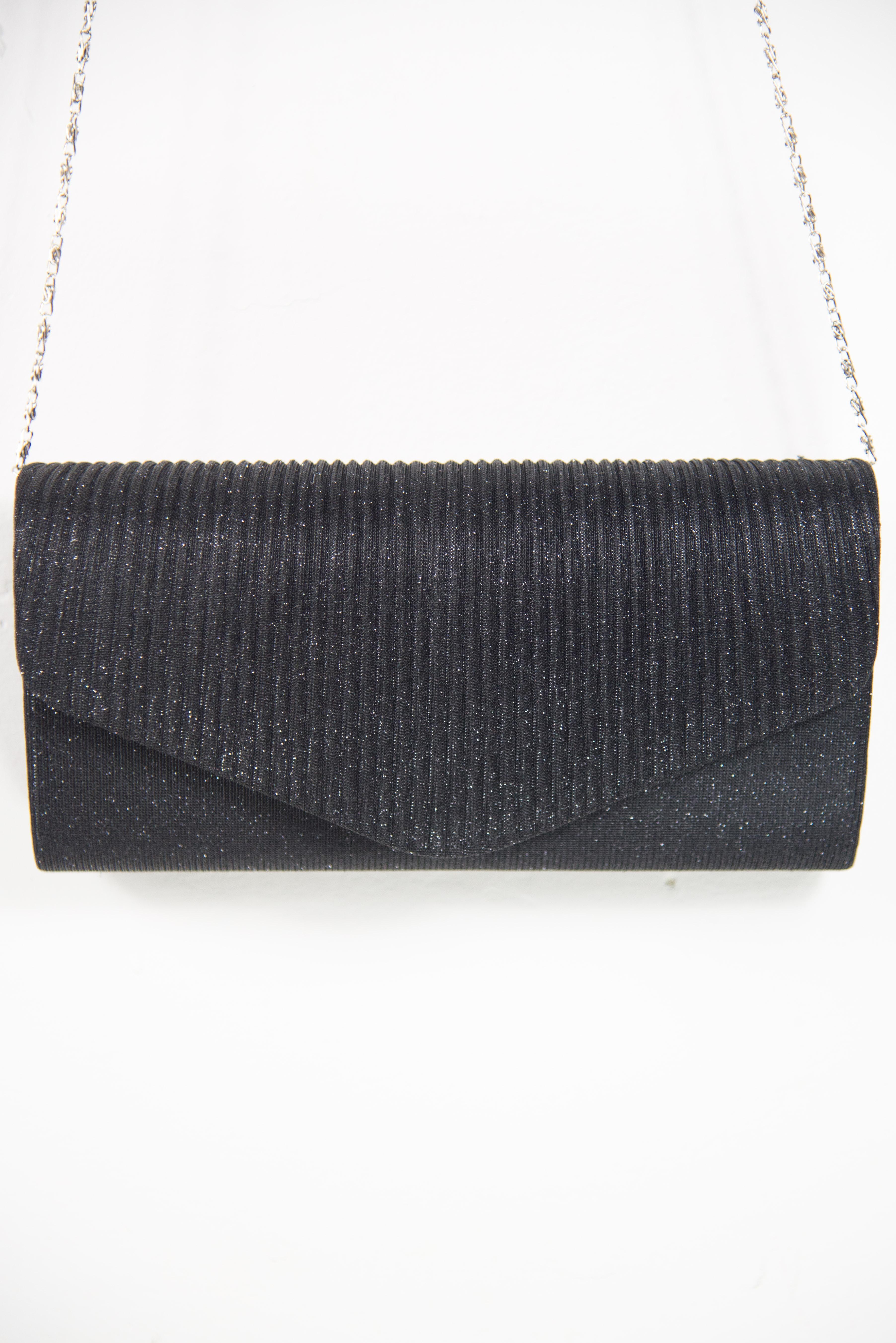 Sac noir à glitter | Vente en ligne de sacs de soirée