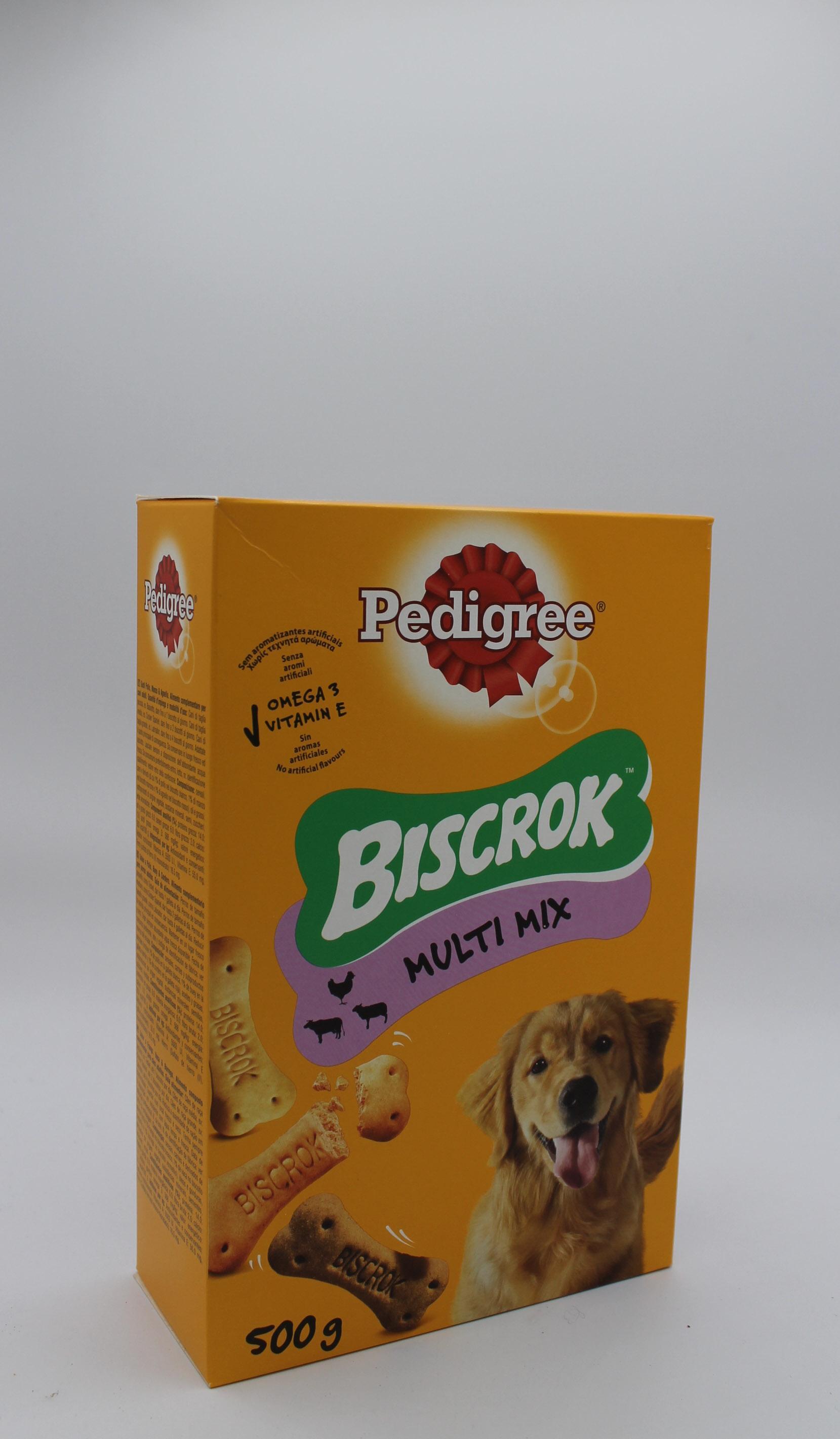 Pedigree biscotti multi mix cani 500gr.