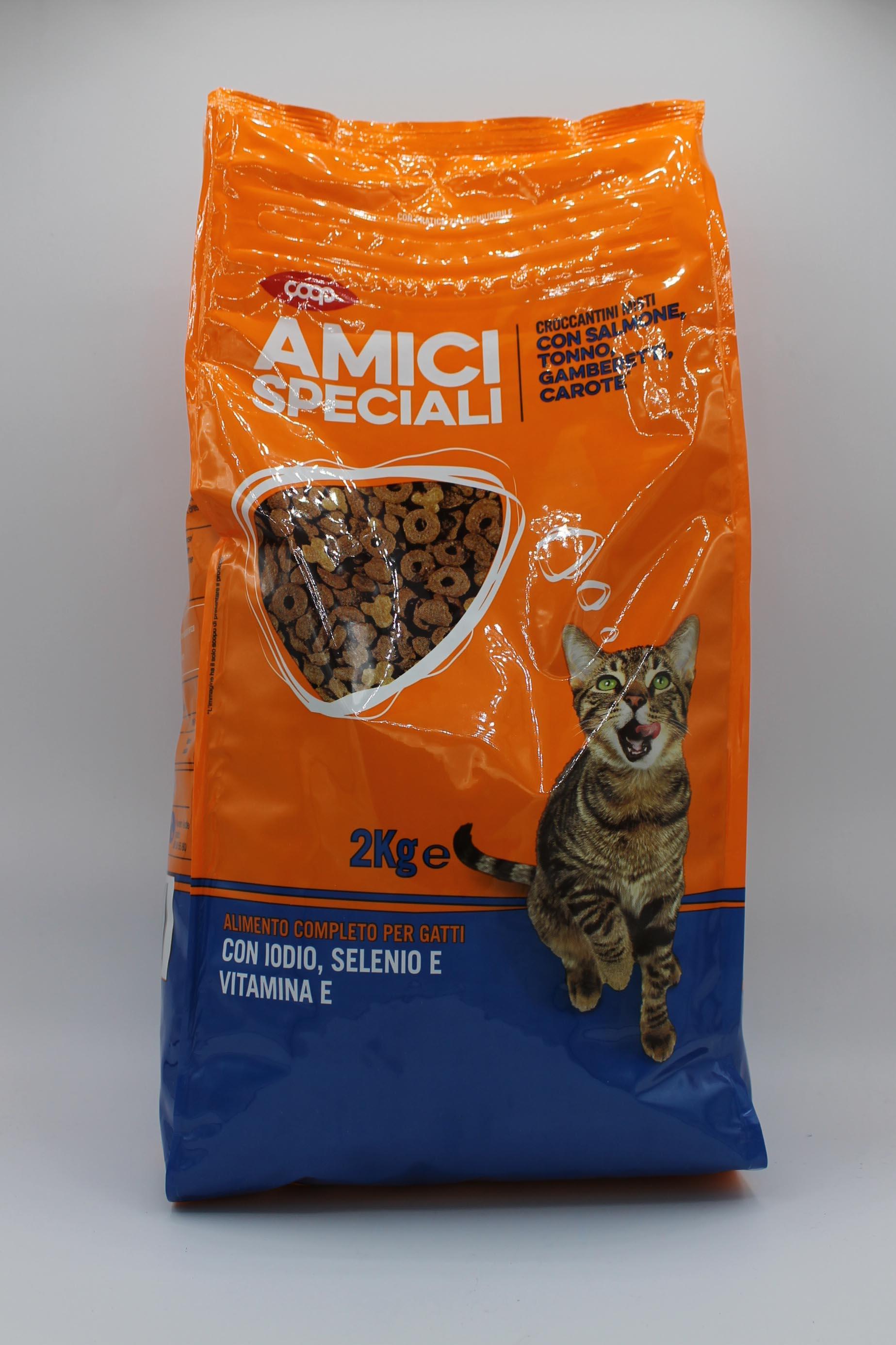 Coop croccantini gatto sacco 2kg.