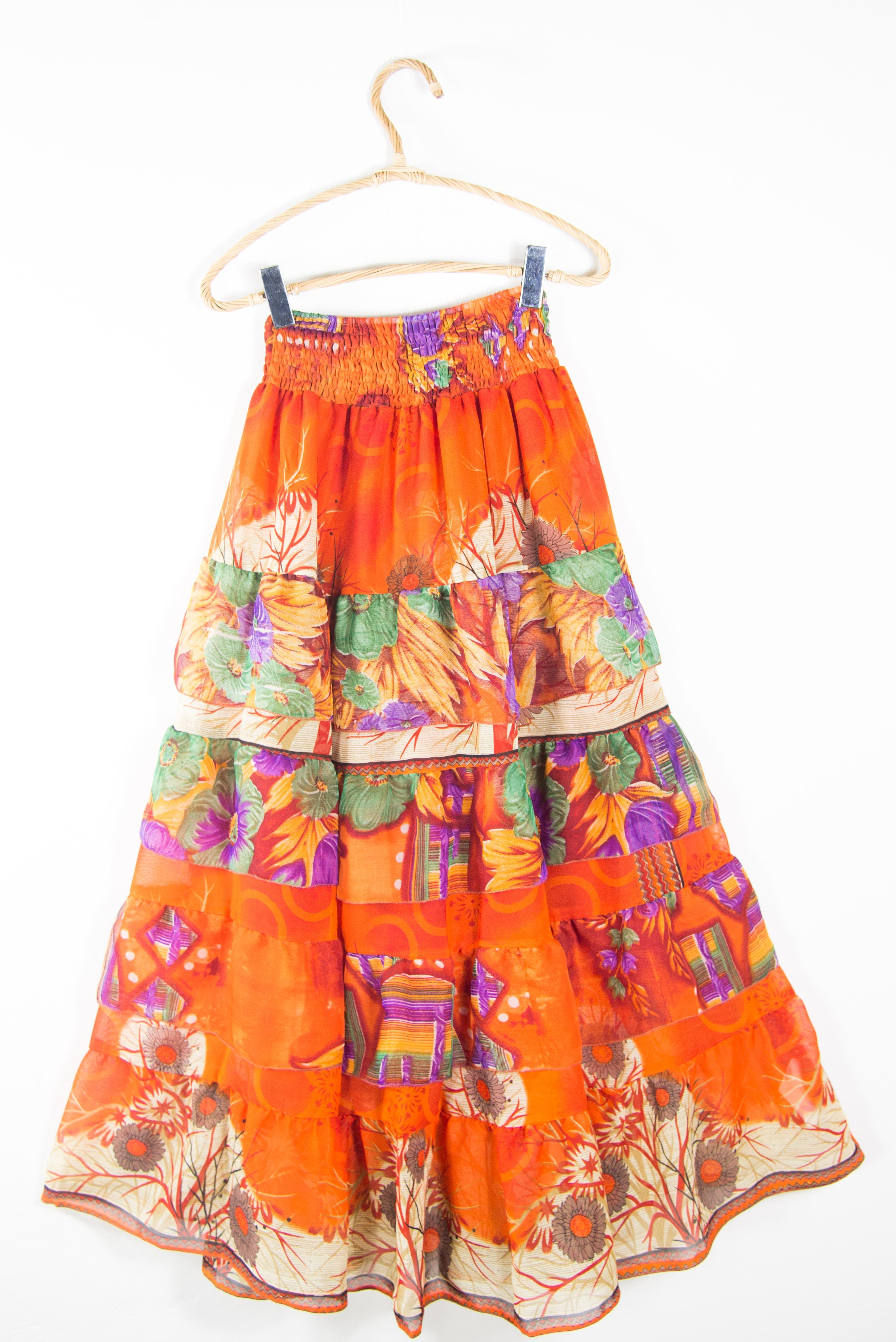 Handmade ethnic skirt. Online long skirts