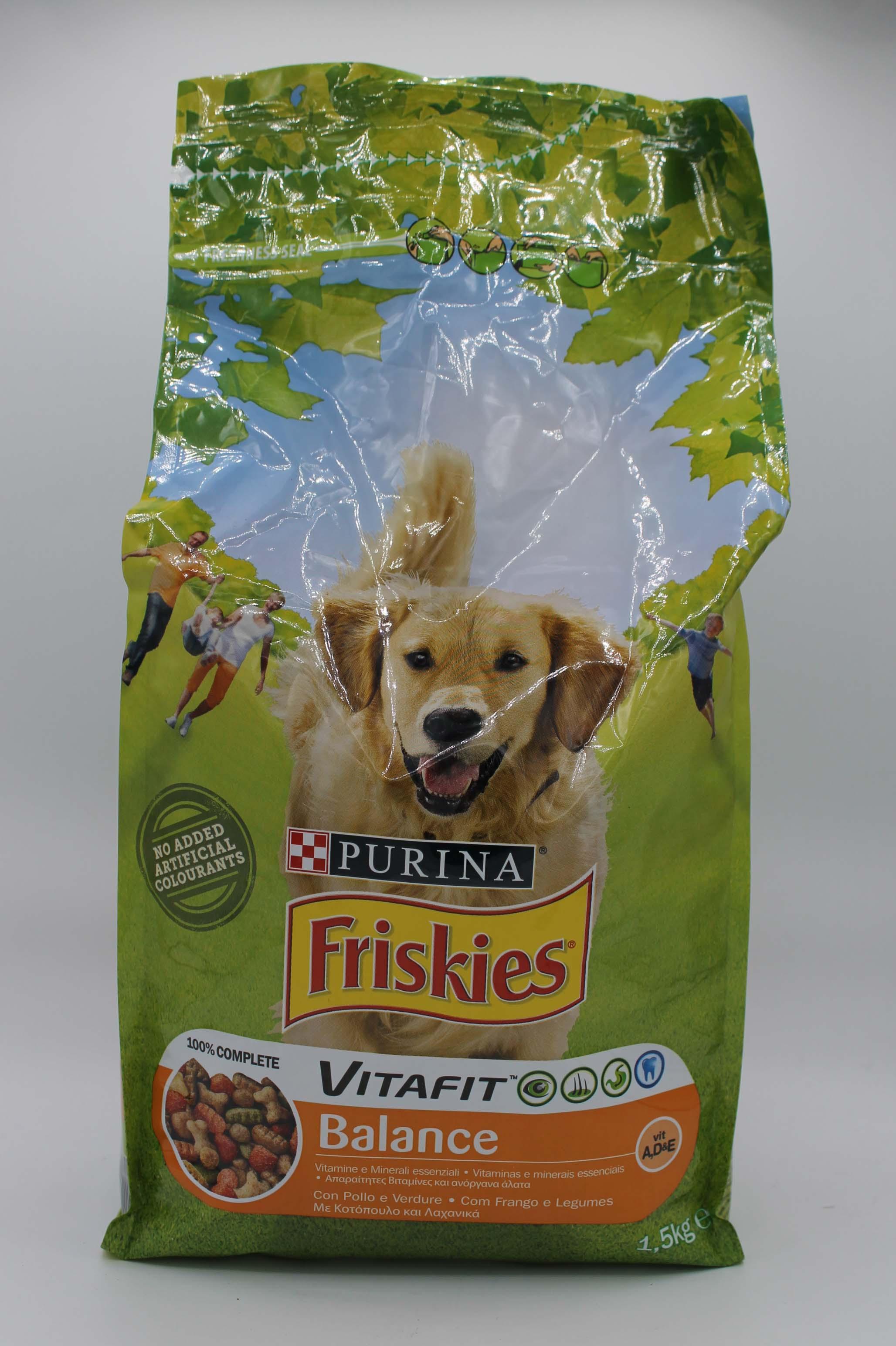 Purina Friskies pasto completo cane 1,5kg.