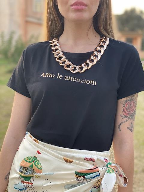 Tshirt Vicolo con scritta