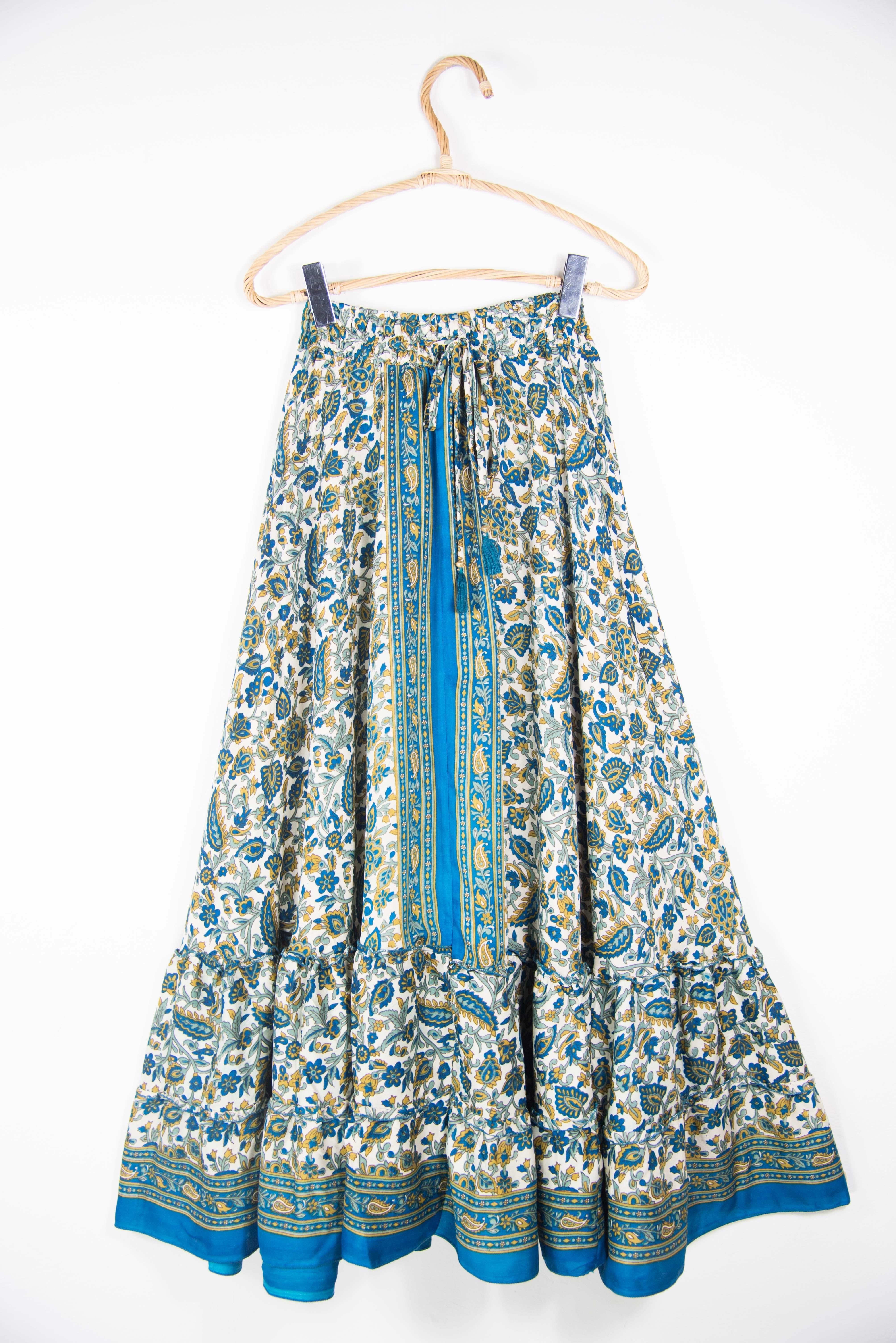 Oriental long skirt. Ethnic skirts online