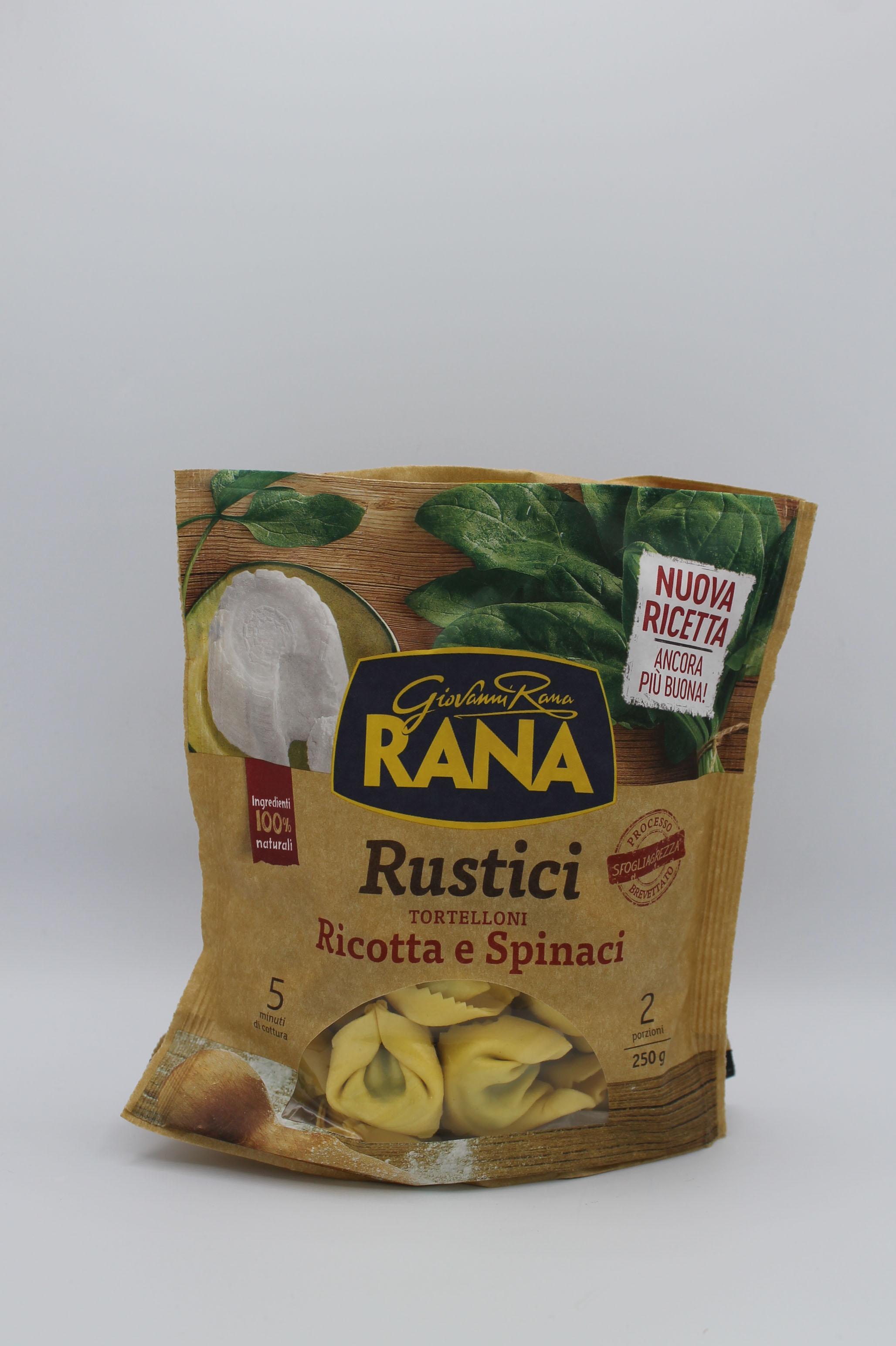 Rana tortelloni ricotta/spinaci 250gr.