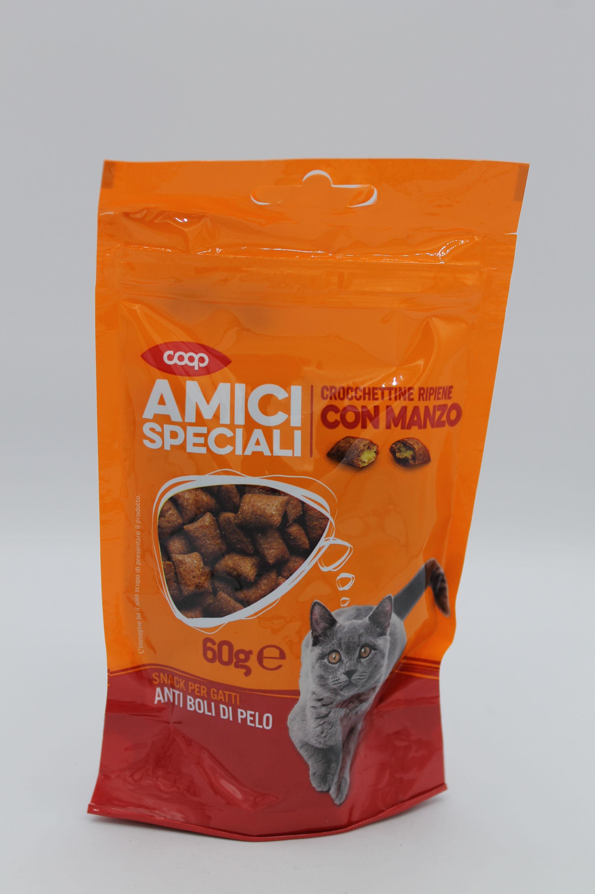 Coop snack gatti manzo 60gr.