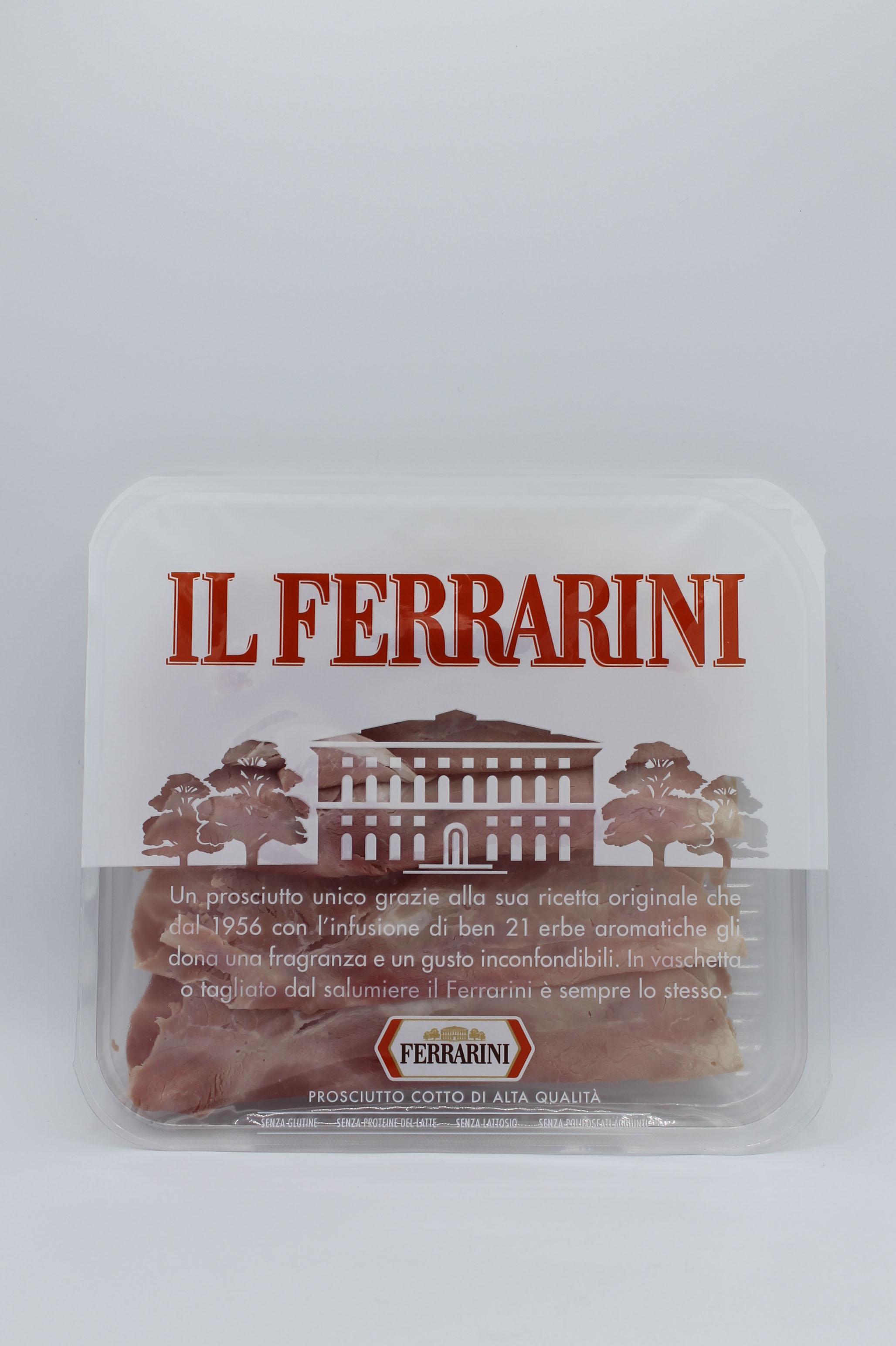 Ferrarini prosciutto cotto 100gr.