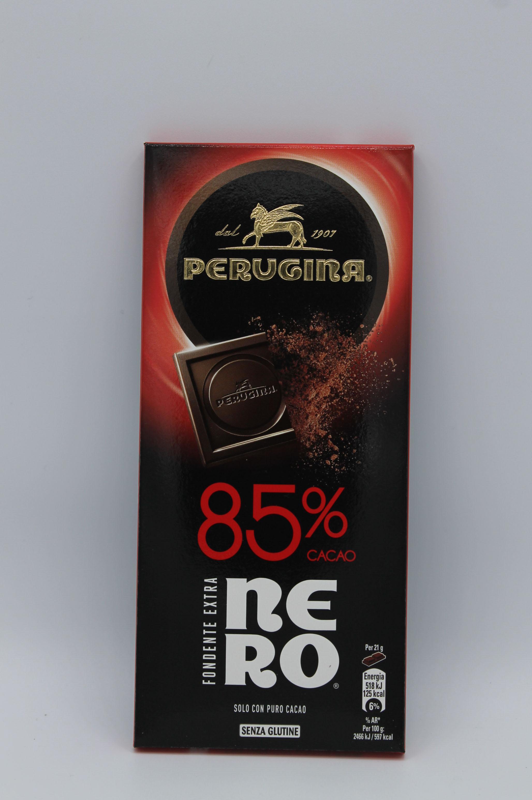 Perugina tavoletta fondente 85% 85gr.