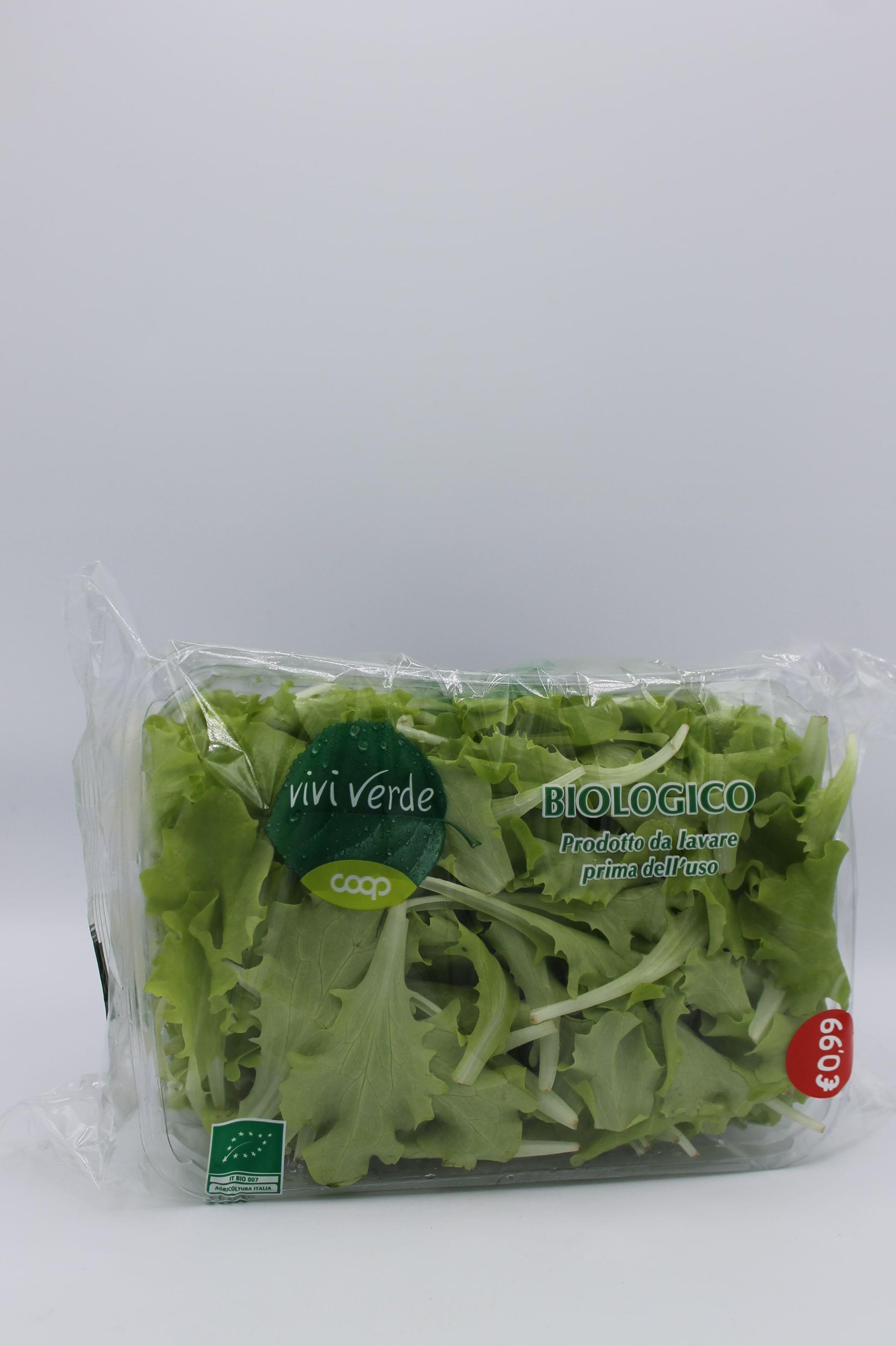 Coop viviverde insalatina bio 100gr.
