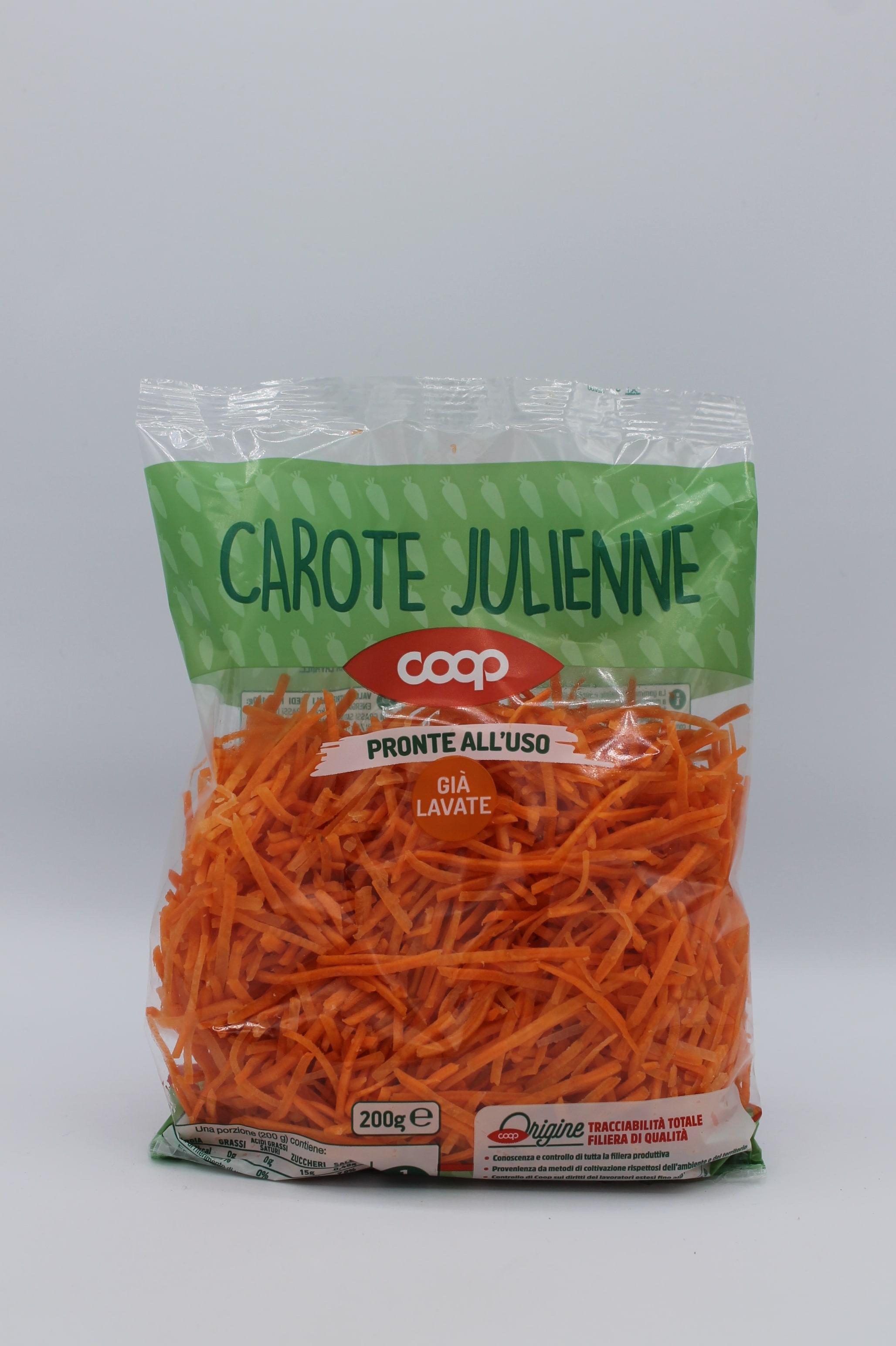 Coop carote julienne 200gr.