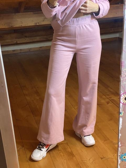Pantalone ampio in felpa Vicolo