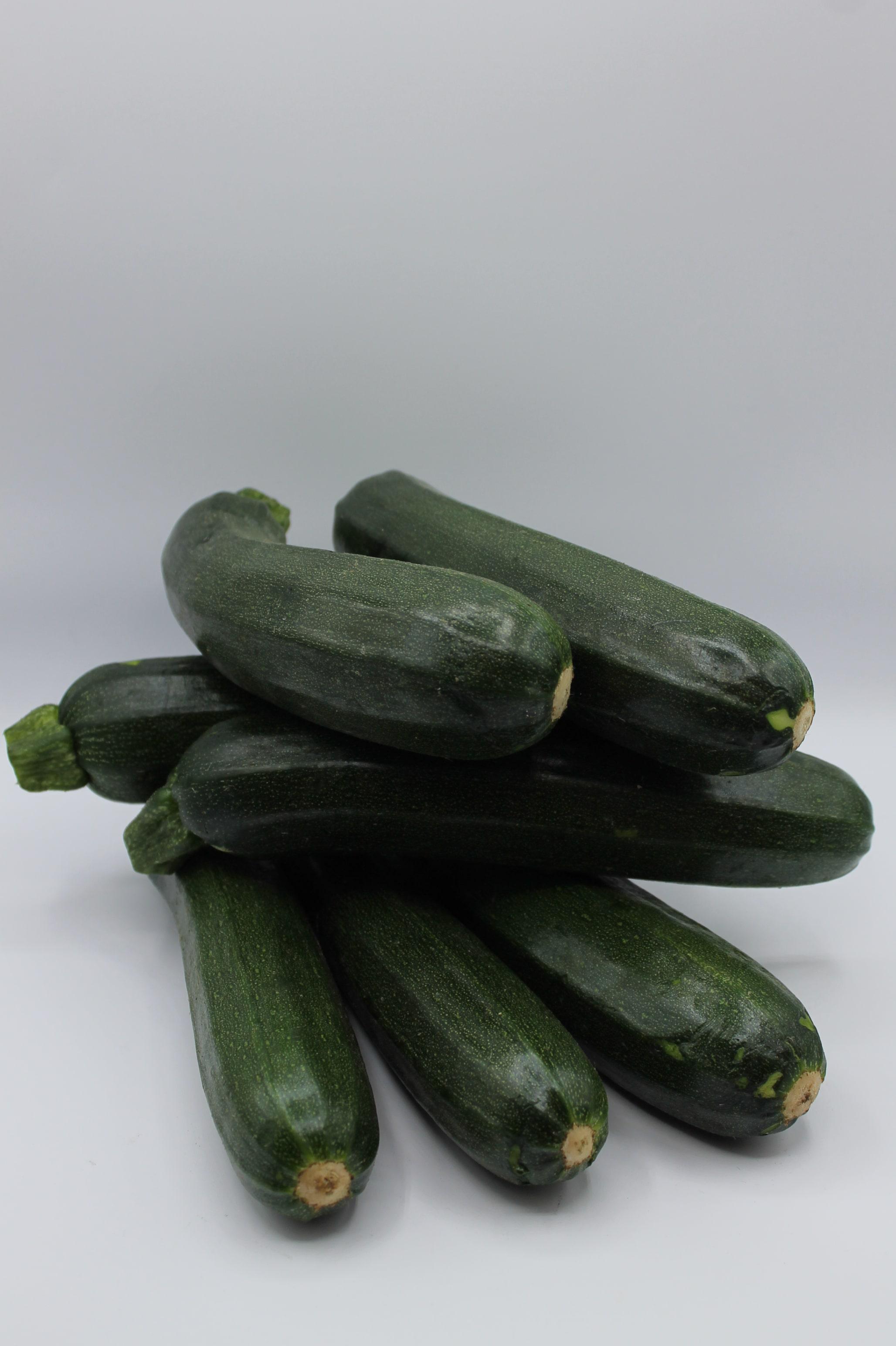 Zucchine scure produzione Italia.