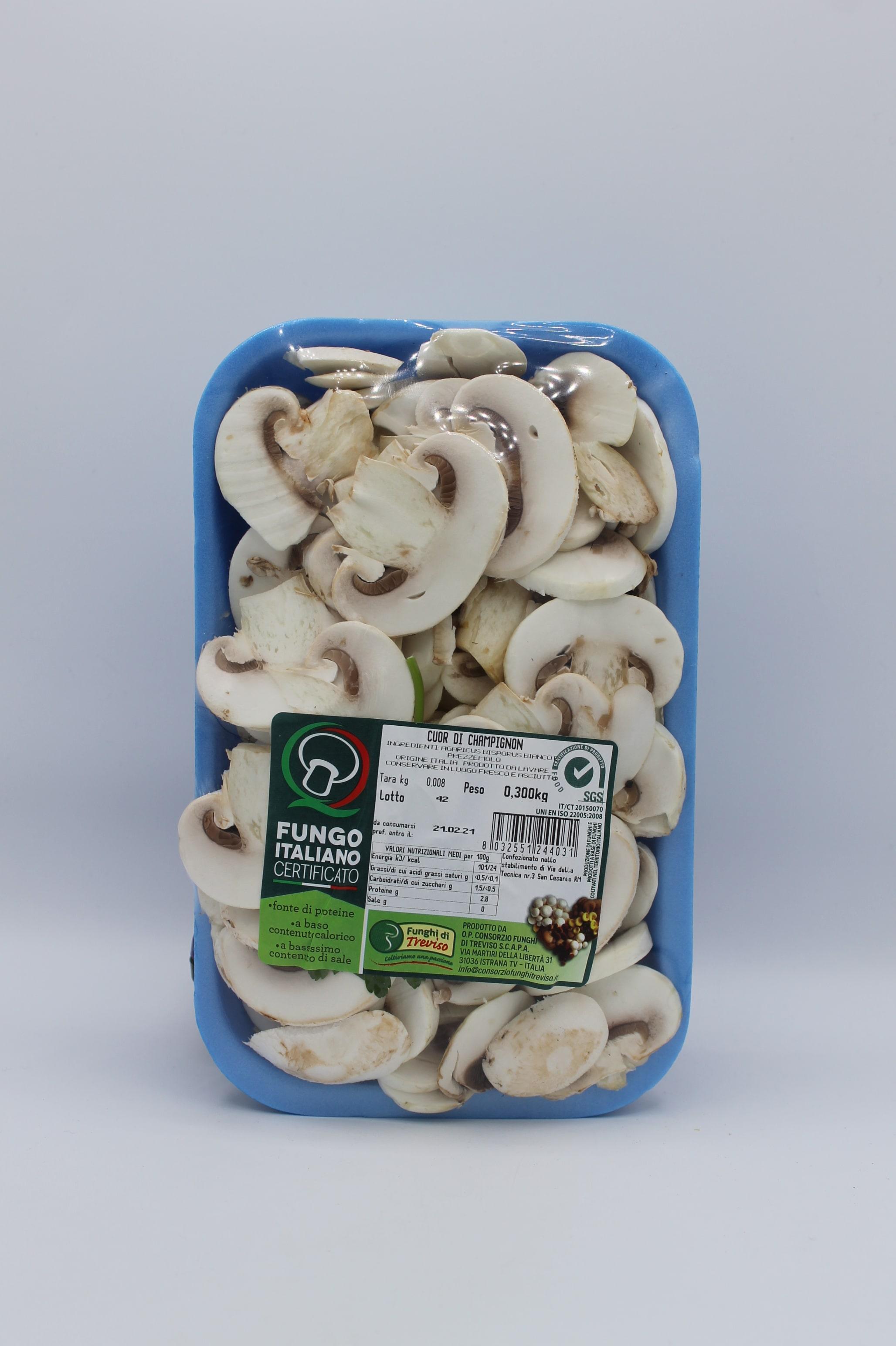 Cuori di champignon 300gr.