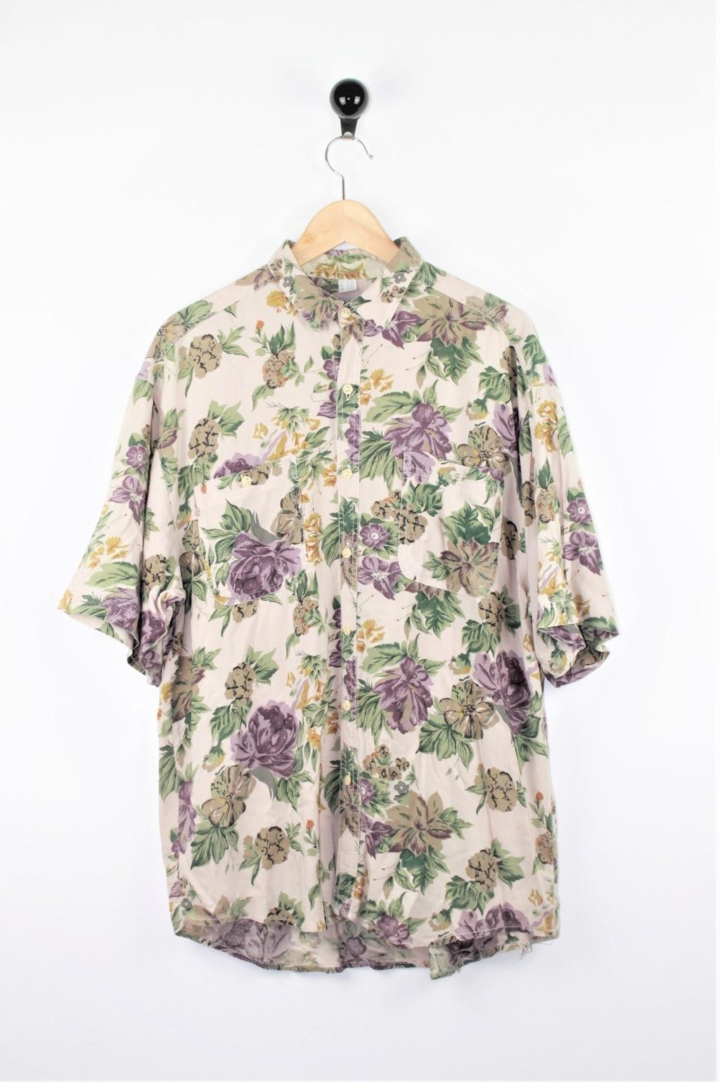 Camicia fantasia fiori