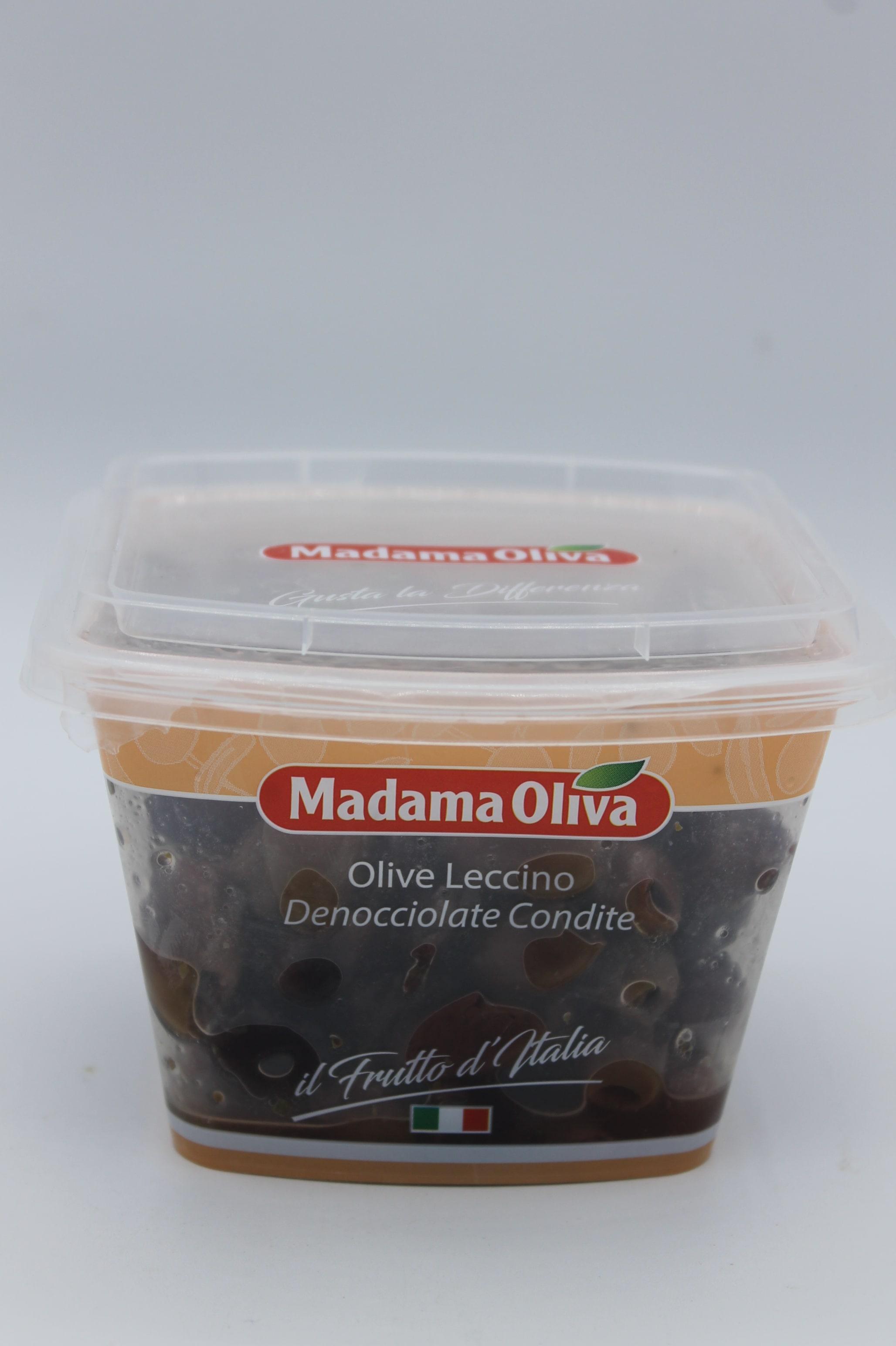 Olive nere denocciolate leccino 200gr.