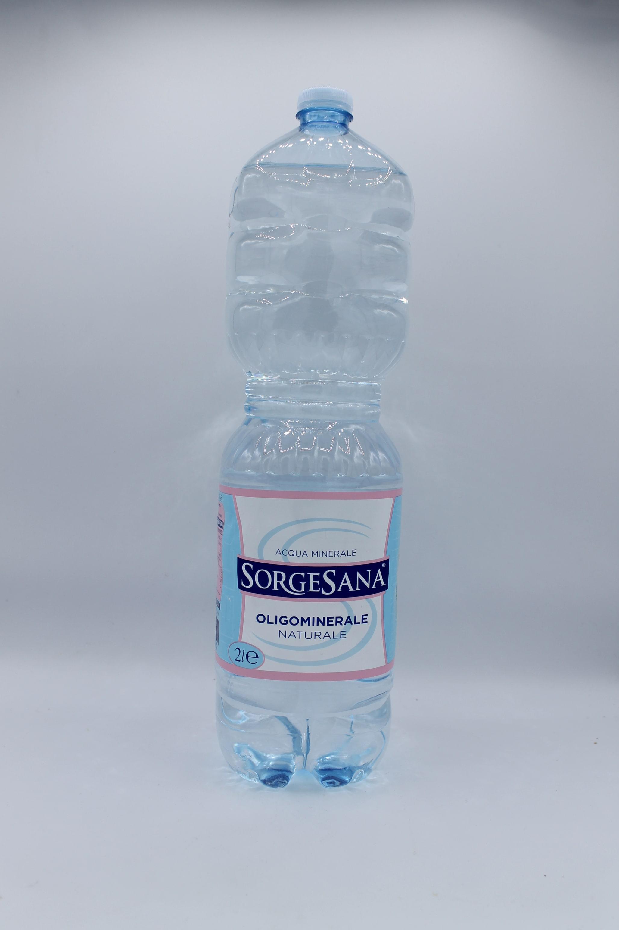 Acqua minerale naturale Sorgesana.