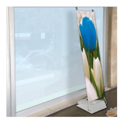 Espositore Fisso Monofacciali Flex da Esterno 90x153 cm