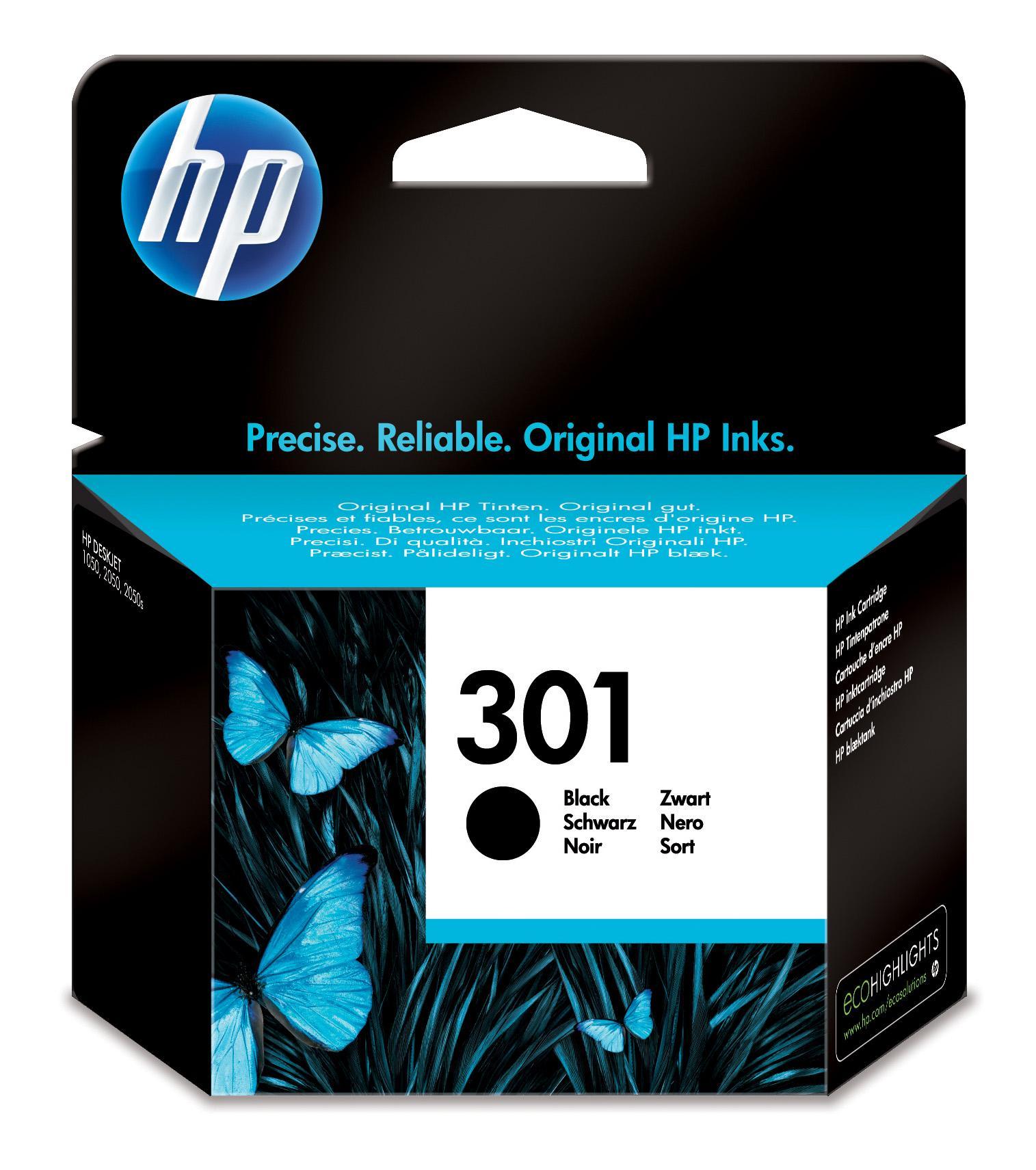 HP 301 Originale Nero per foto 1 pezzo(i)