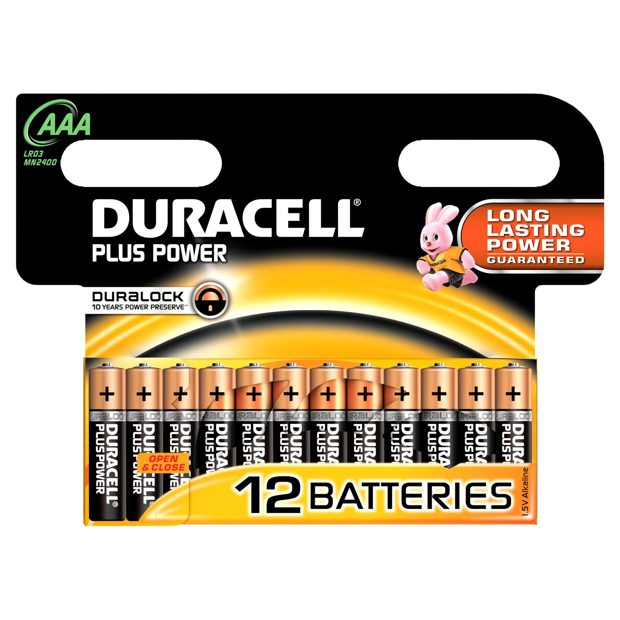 Duracell Plus Power Batteria monouso Mini Stilo AAA Alcalino
