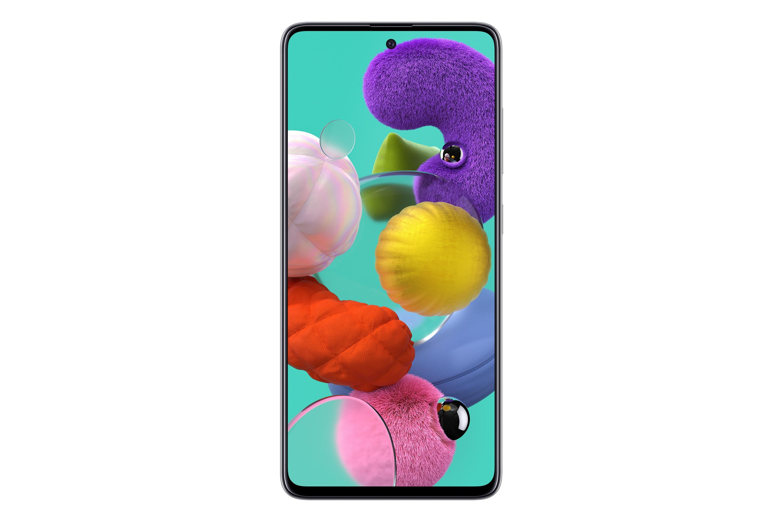 Samsung Galaxy A51 , Bianca, 6.5, Wi-Fi 5 (802.11ac)LTE, 128GB
