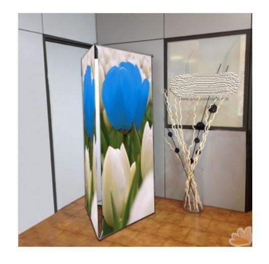 Espositore Fisso Trifacciale da Interno 90x210 cm
