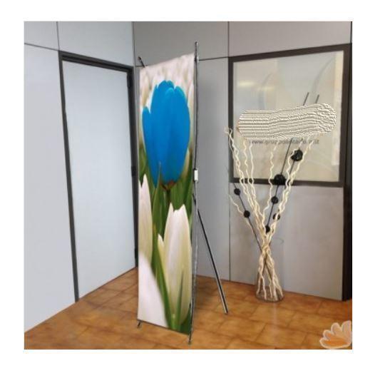Espositore Fisso Monofacciali Flex da Interno 60x160 cm