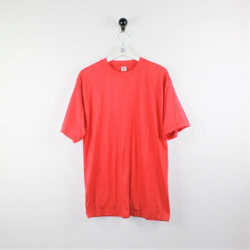 T-shirt plain red