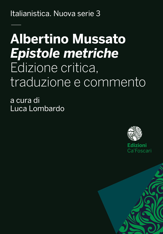 Albertino Mussato, Epistole metriche