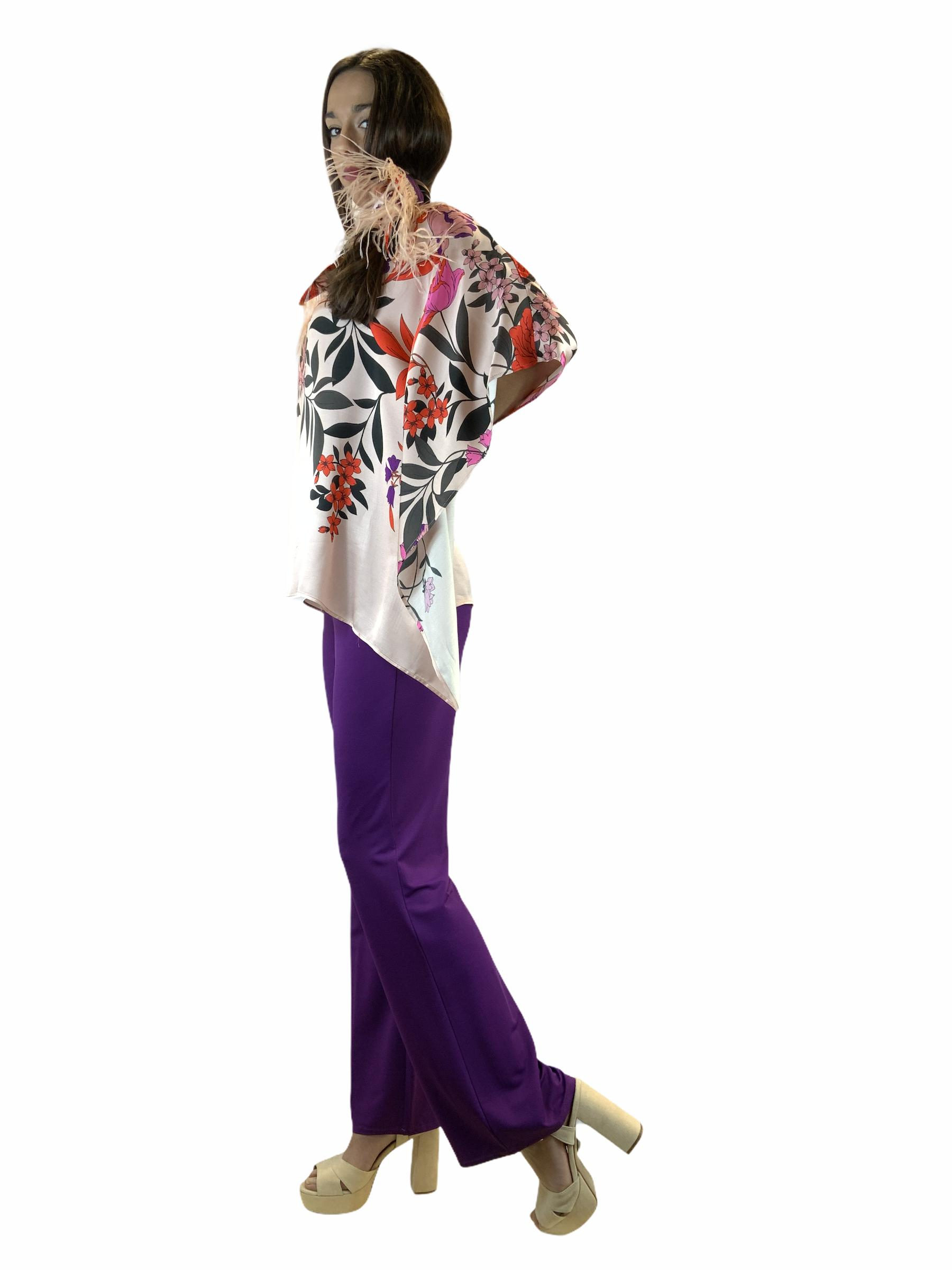 1ONE PANTALONE IN JERSEY FLARED