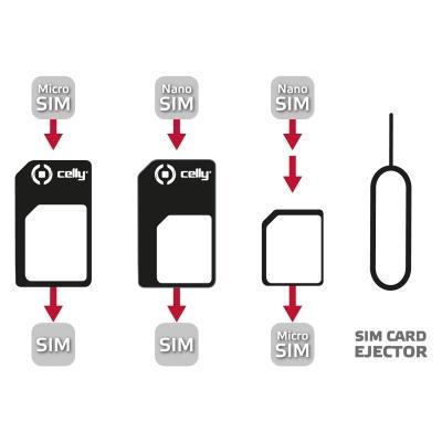 Celly SIMKITAD adattatore per SIM/flash memory card SIM card adapter