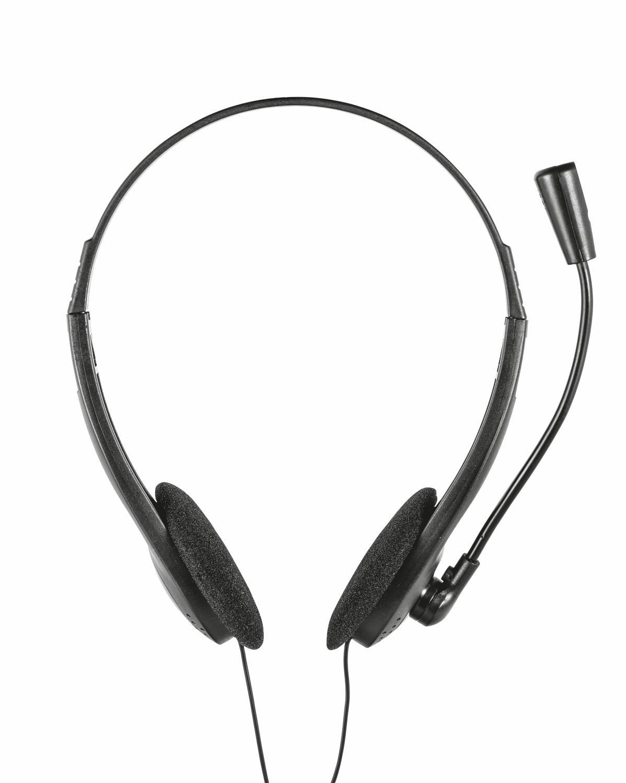 Trust 21665 headphones/headset Cuffia Auricolare Nero