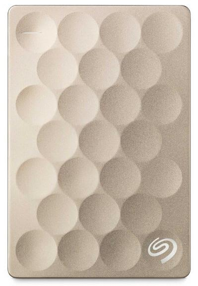 Seagate Backup Plus Ultra Slim 1TB disco rigido esterno 1000 GB Oro