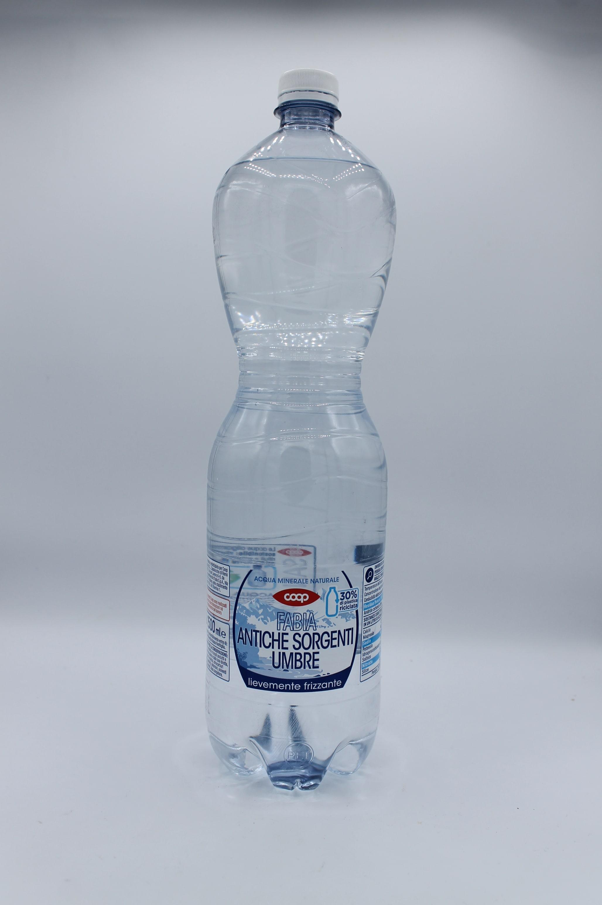 Coop acqua leggermente frizzante 1,5lt.