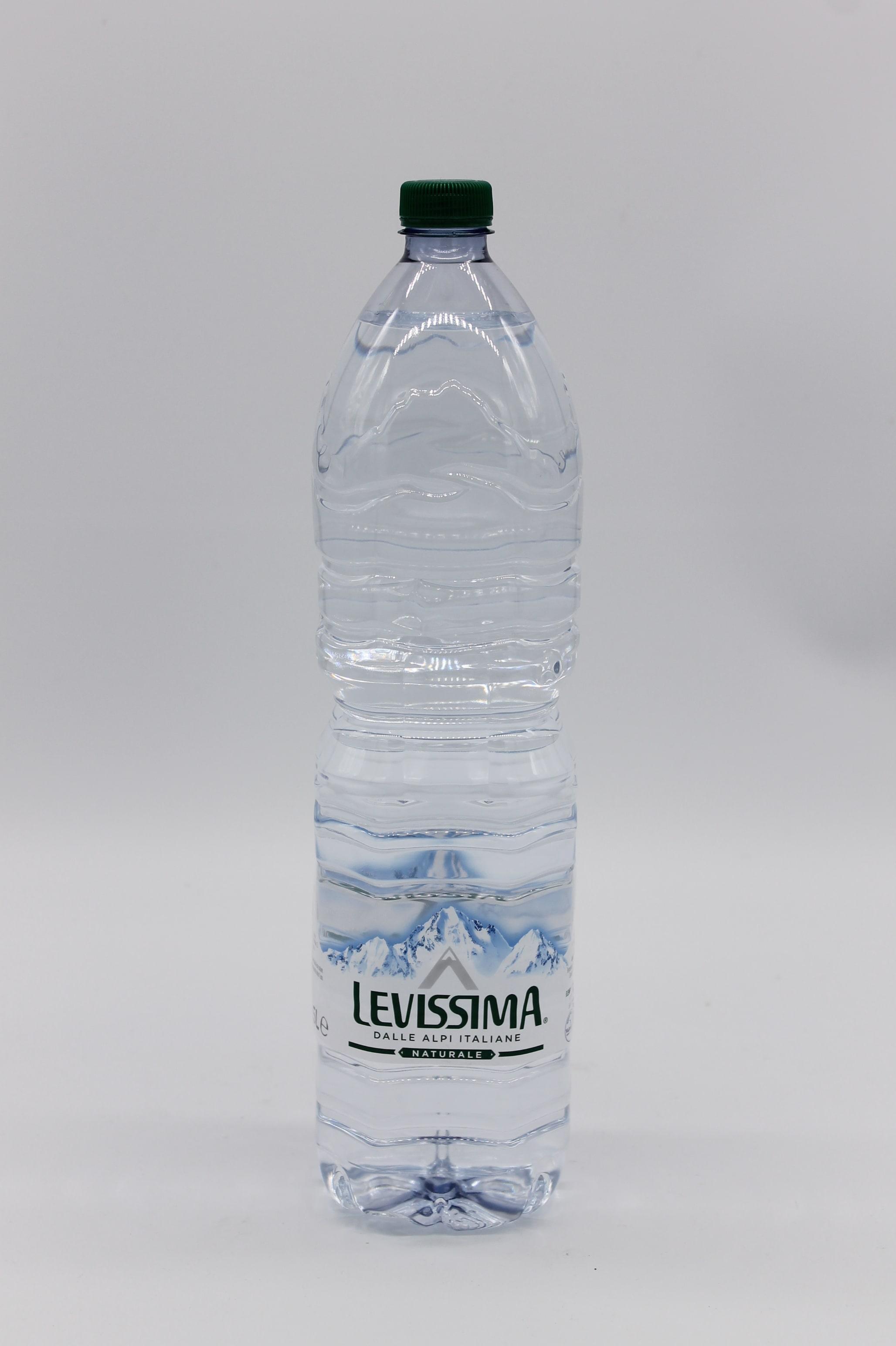 Acqua naturale Levissima 1,5lt.