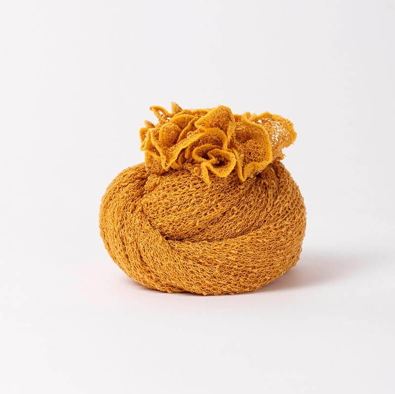 Ponchetto Giallo Senape | Accessorio moda donna